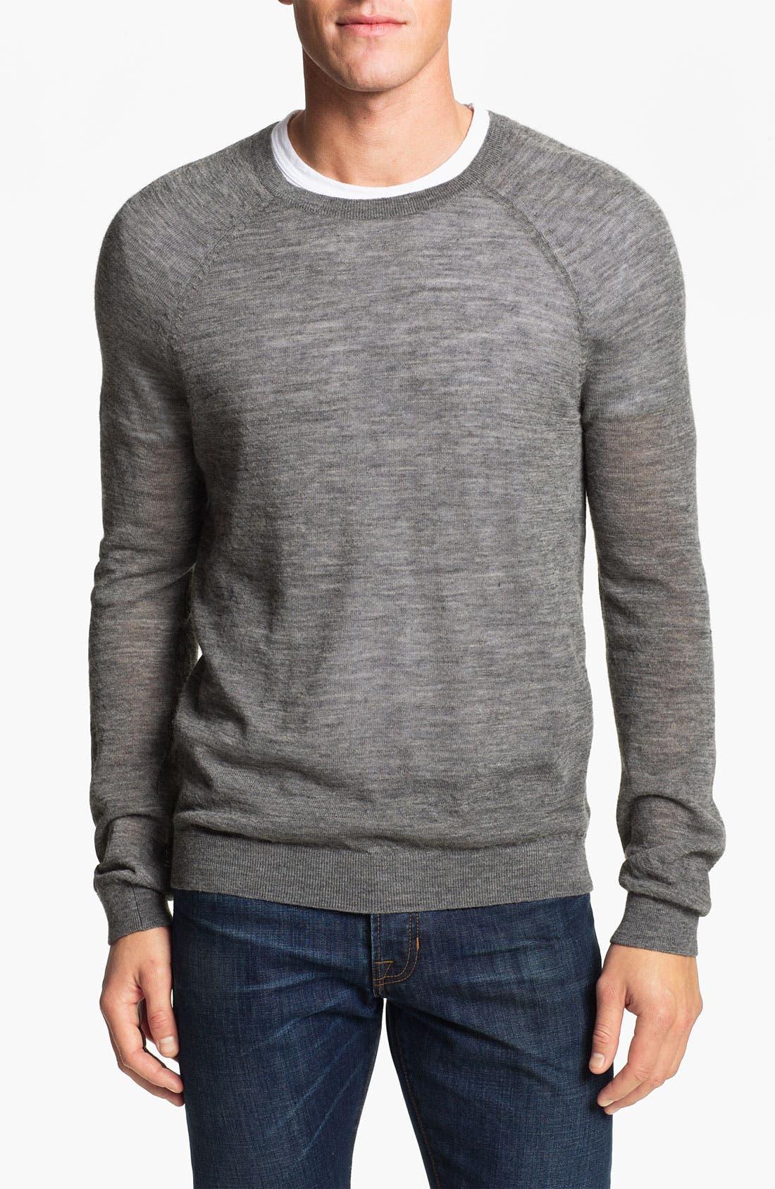 Alternate Image 1 Selected - Vince Alpaca Blend Crewneck Sweater