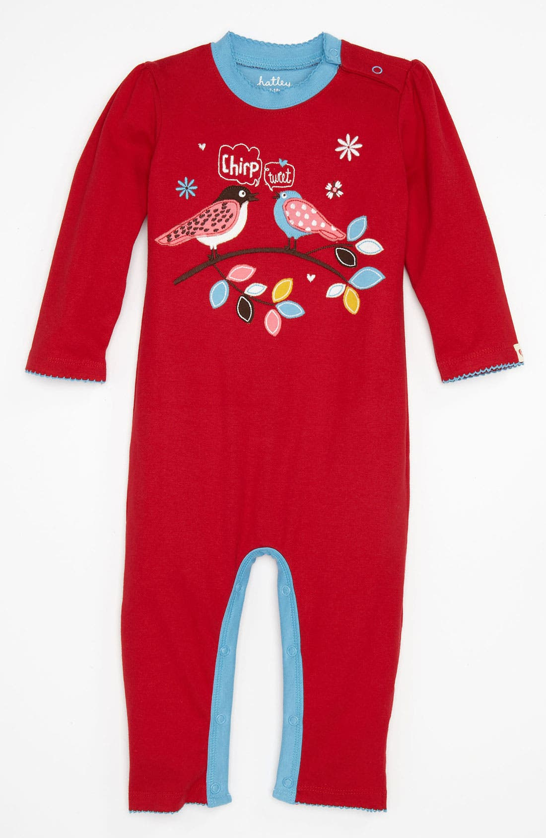 Alternate Image 1 Selected - Hatley 'Day' Coveralls (Infant)