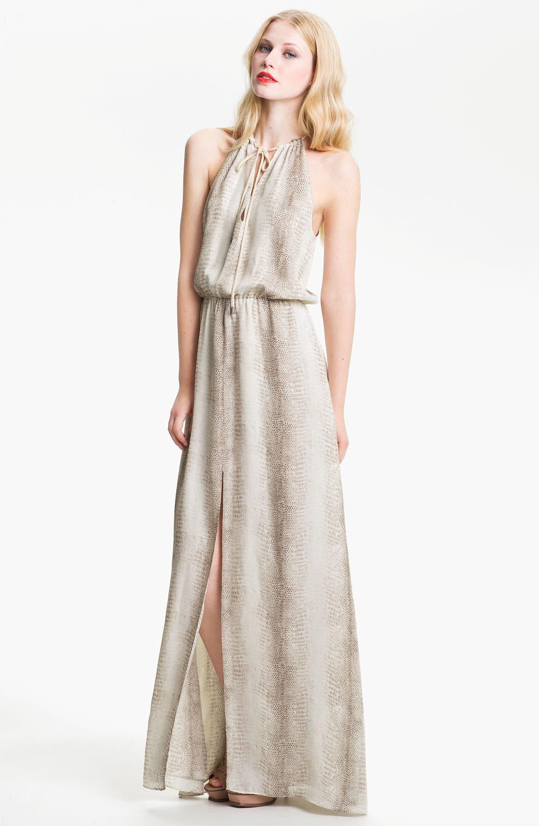 Alternate Image 1 Selected - Parker Print Silk Maxi Dress