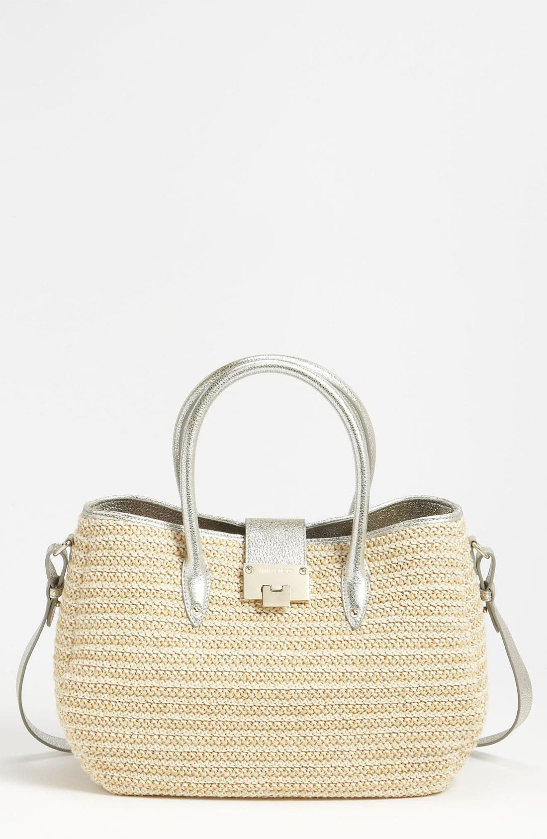 Alternate Image 1 Selected - Jimmy Choo 'Rania' Raffia Tote