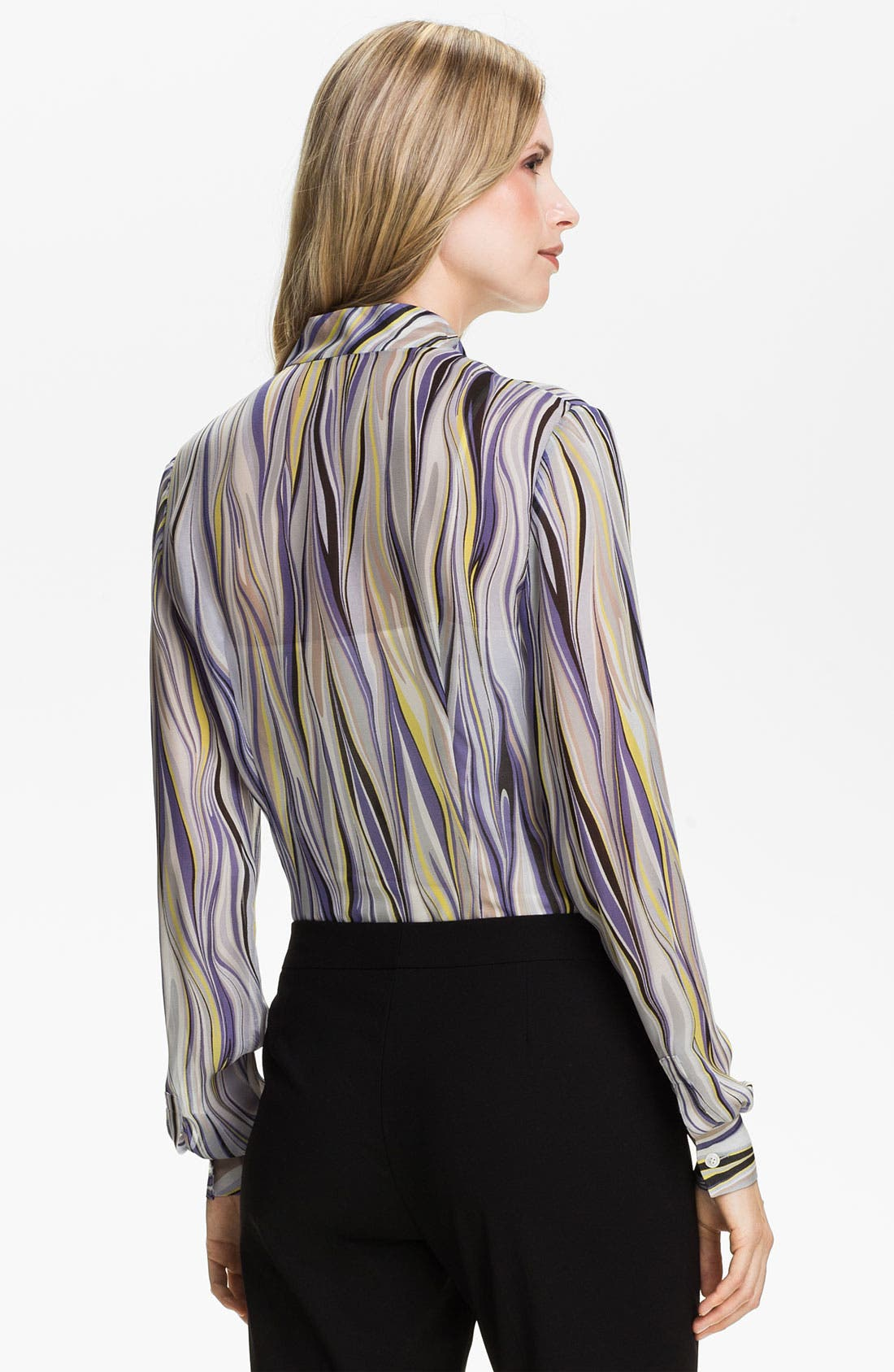 Alternate Image 2  - Lafayette 148 New York 'Audrey - Etro Gamma' Print Blouse