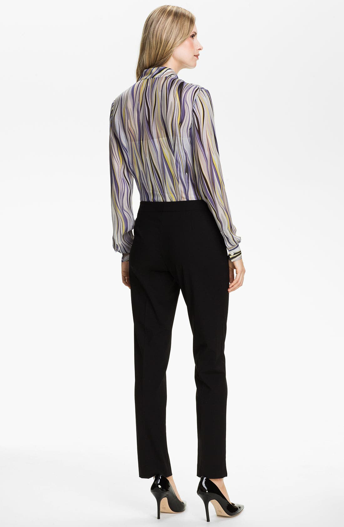 Alternate Image 5  - Lafayette 148 New York 'Audrey - Etro Gamma' Print Blouse