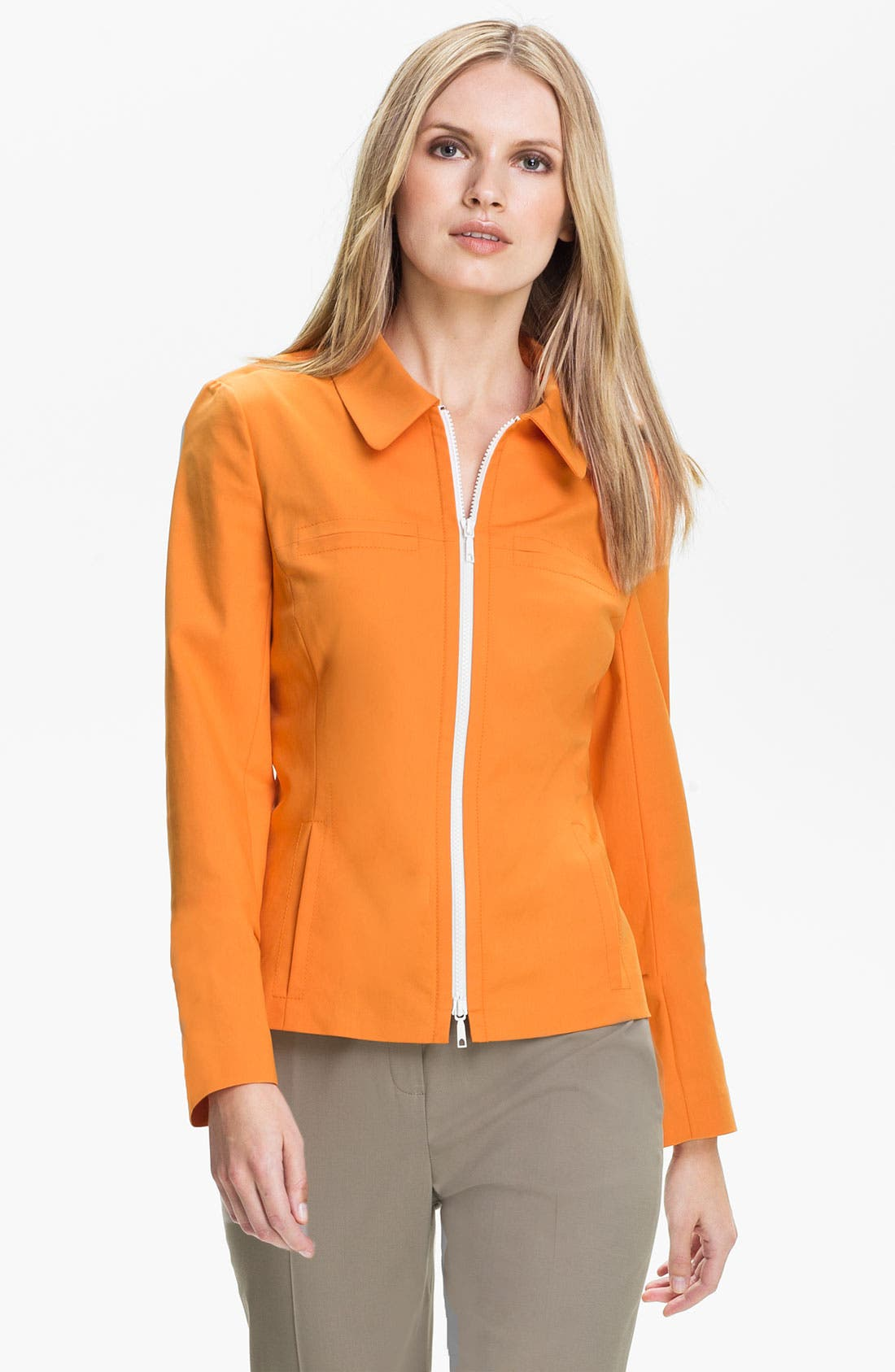 Main Image - Lafayette 148 New York 'Francine Metropolitan Stretch' Jacket