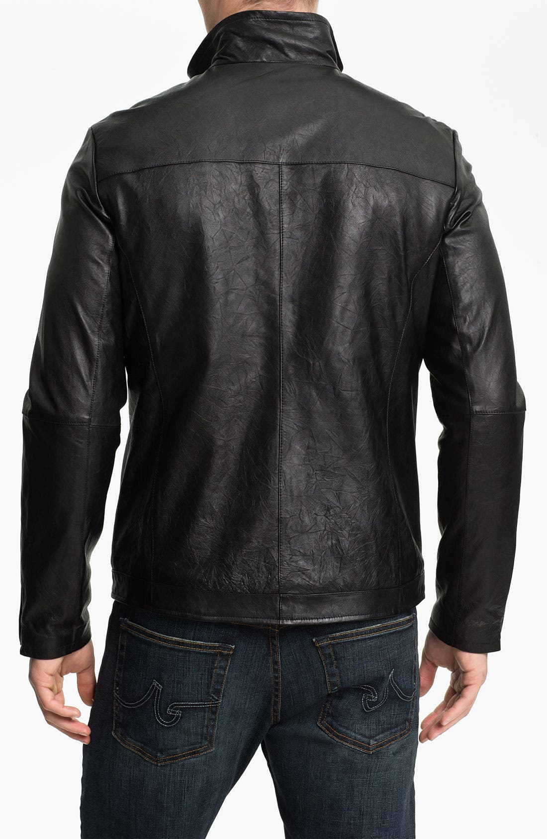 Alternate Image 2  - Zachary Prell 'Barclay' Leather Jacket