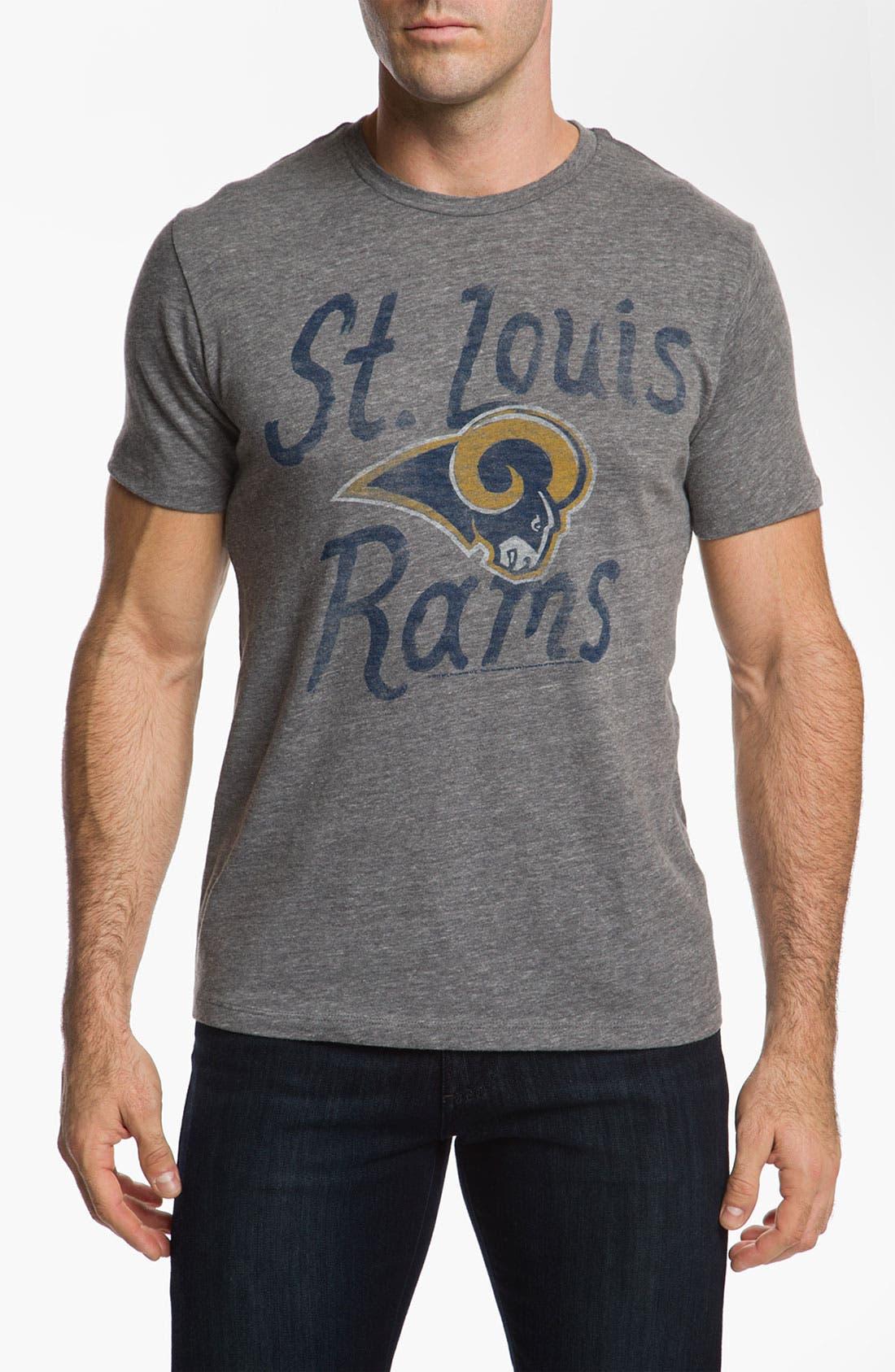 Alternate Image 1 Selected - Junk Food 'St. Louis Rams' T-Shirt