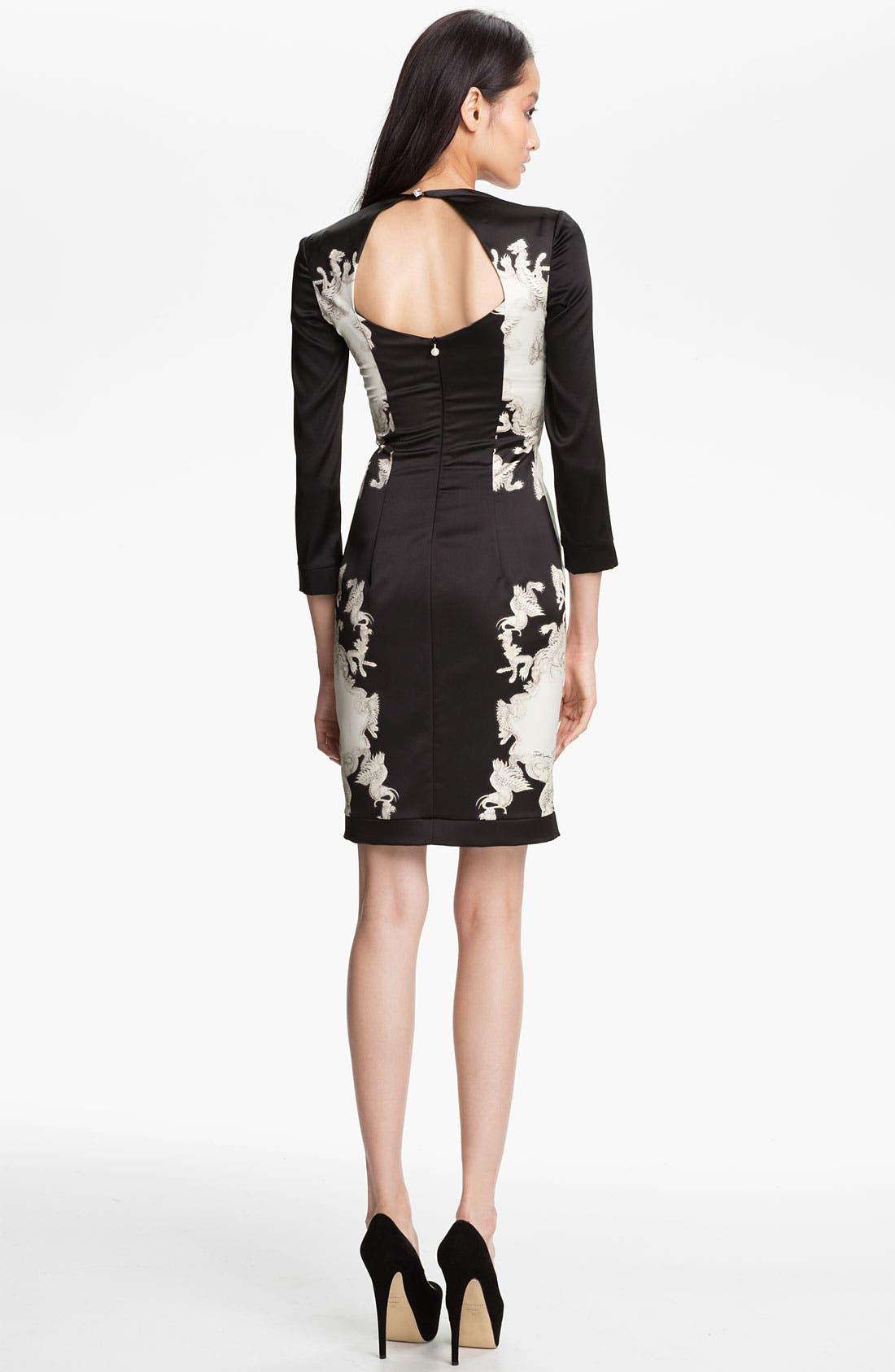 Alternate Image 2  - Just Cavalli Print Sheath Dress