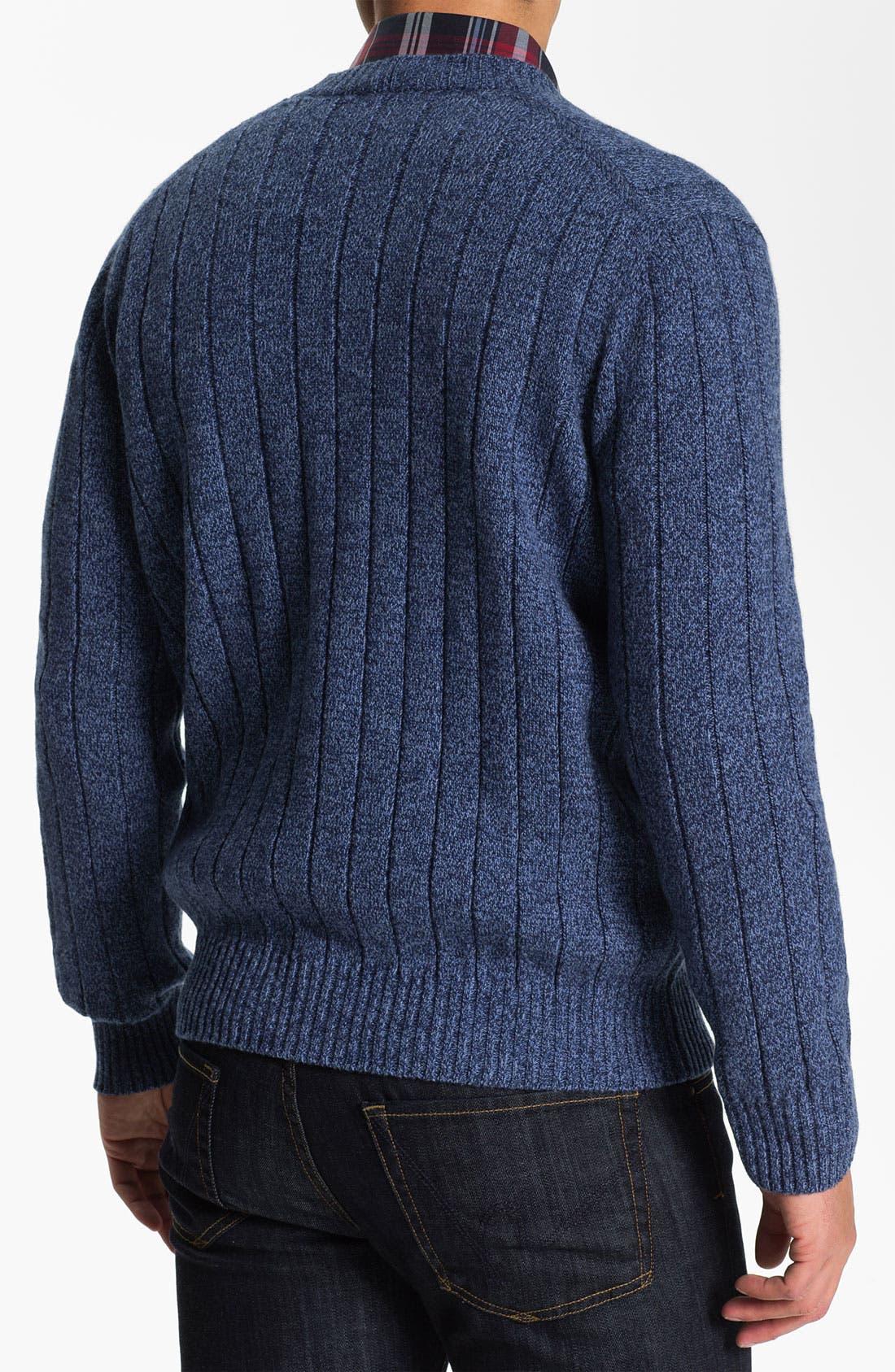Alternate Image 2  - Lora Gi Wool & Cashmere Button Cardigan