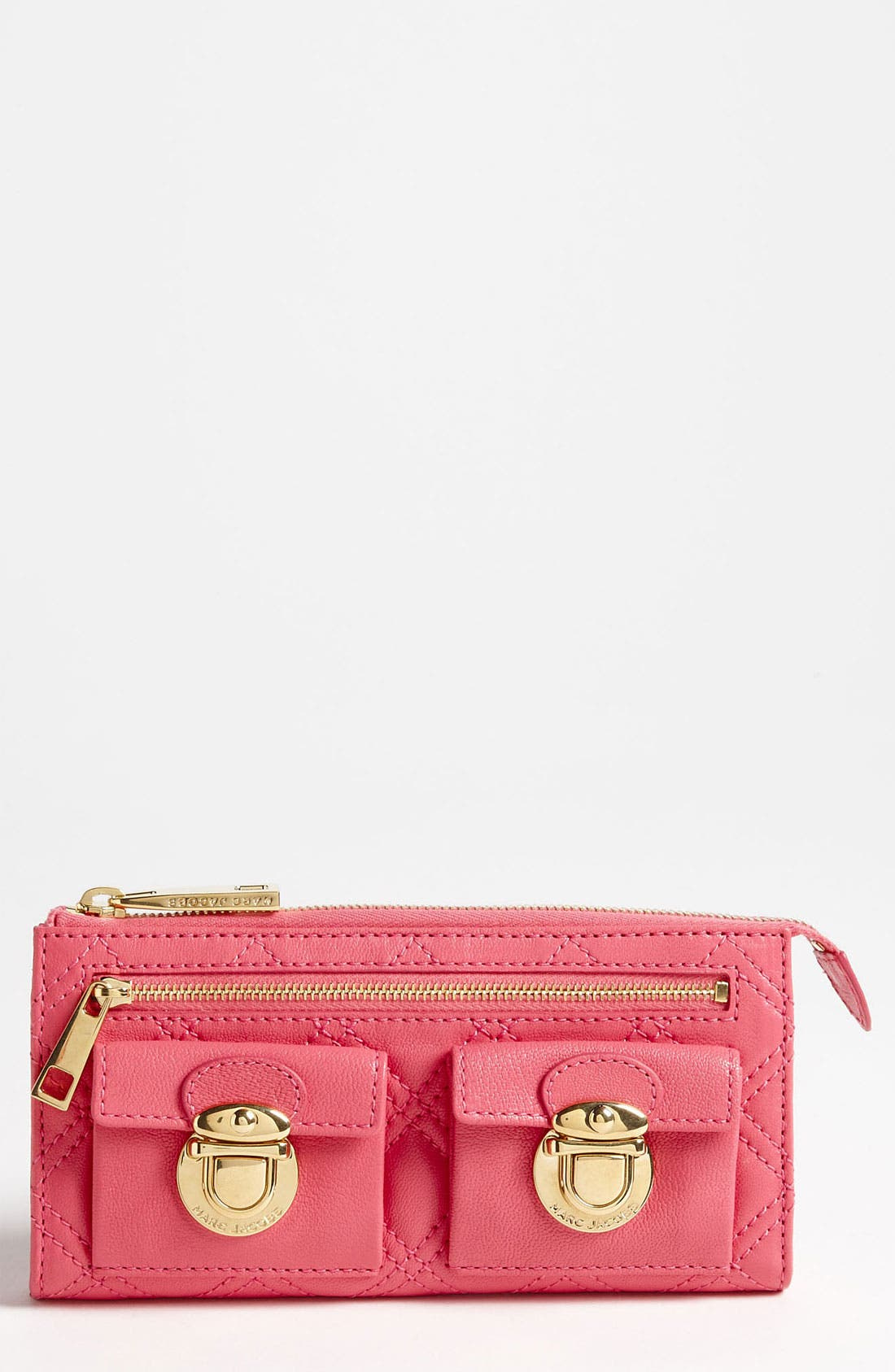 Main Image - MARC JACOBS Zip Clutch Wallet