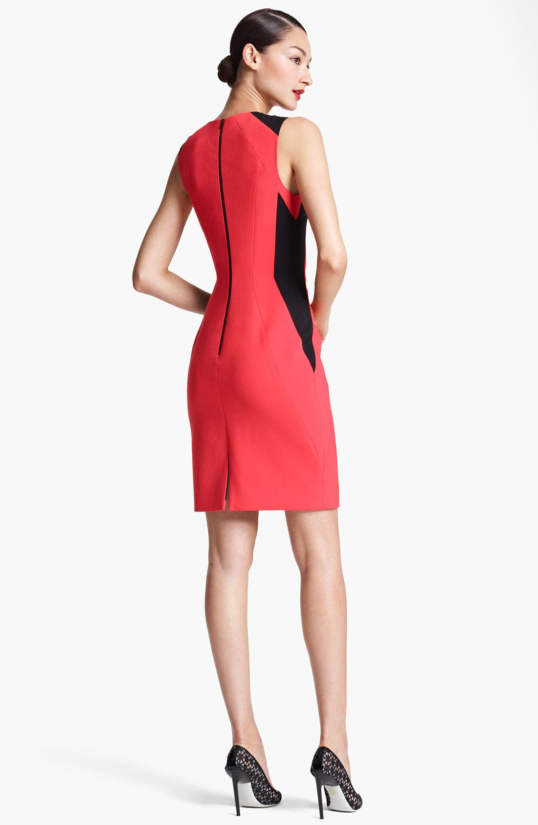 Alternate Image 2  - Jason Wu Double Face Stretch Wool Sheath Dress
