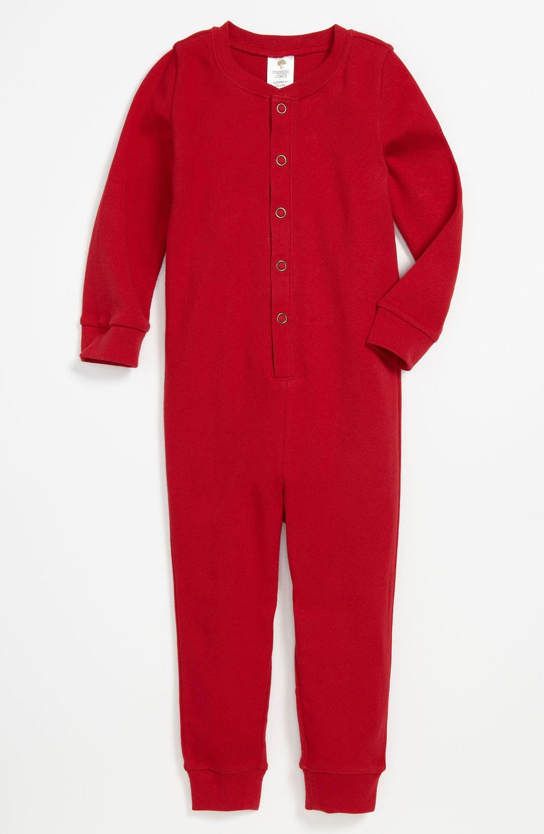 Main Image - Tucker + Tate Union Suit Pajamas (Infant)