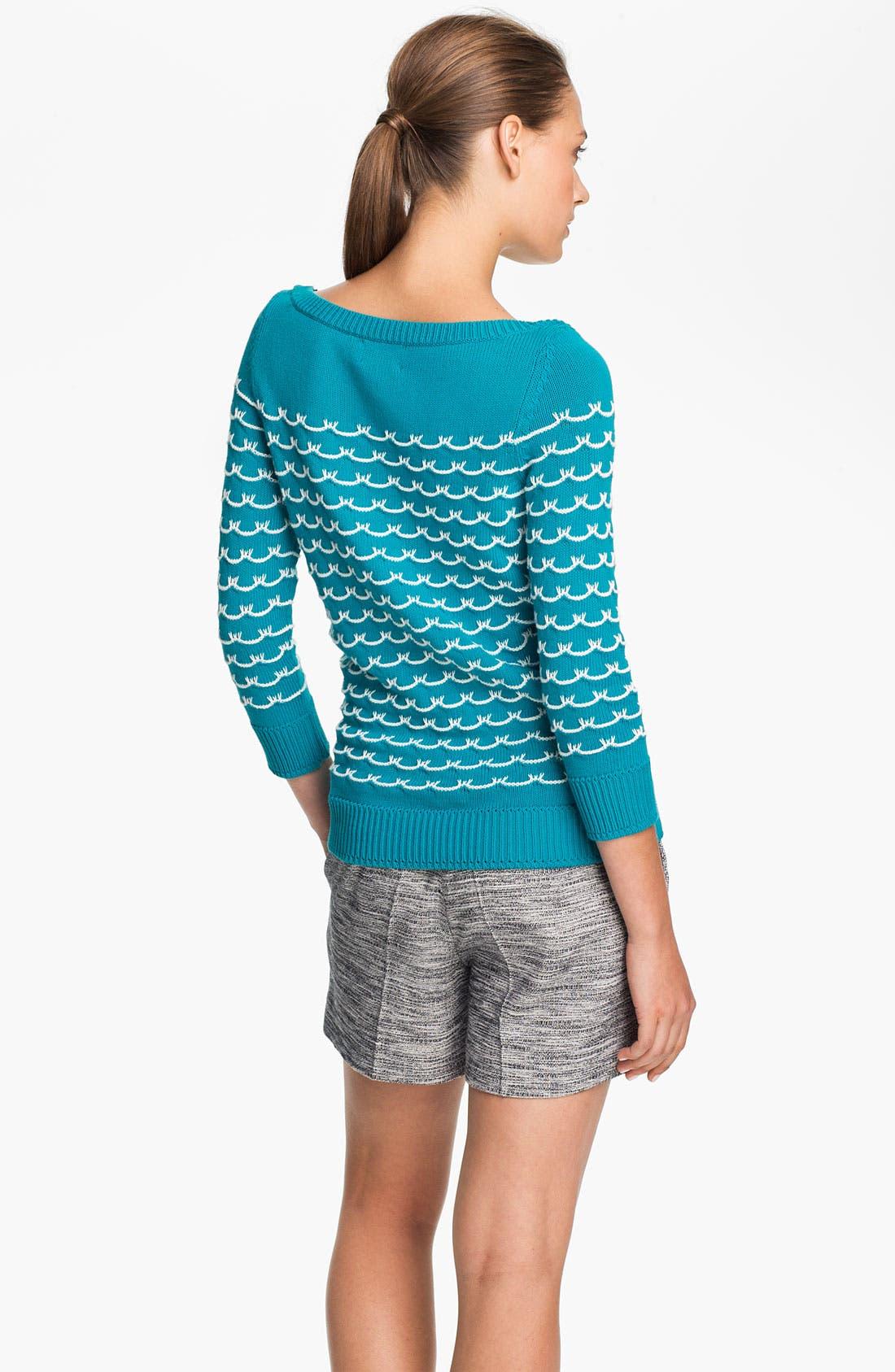 Alternate Image 2  - Milly 'Sailor Stitch' Sweater