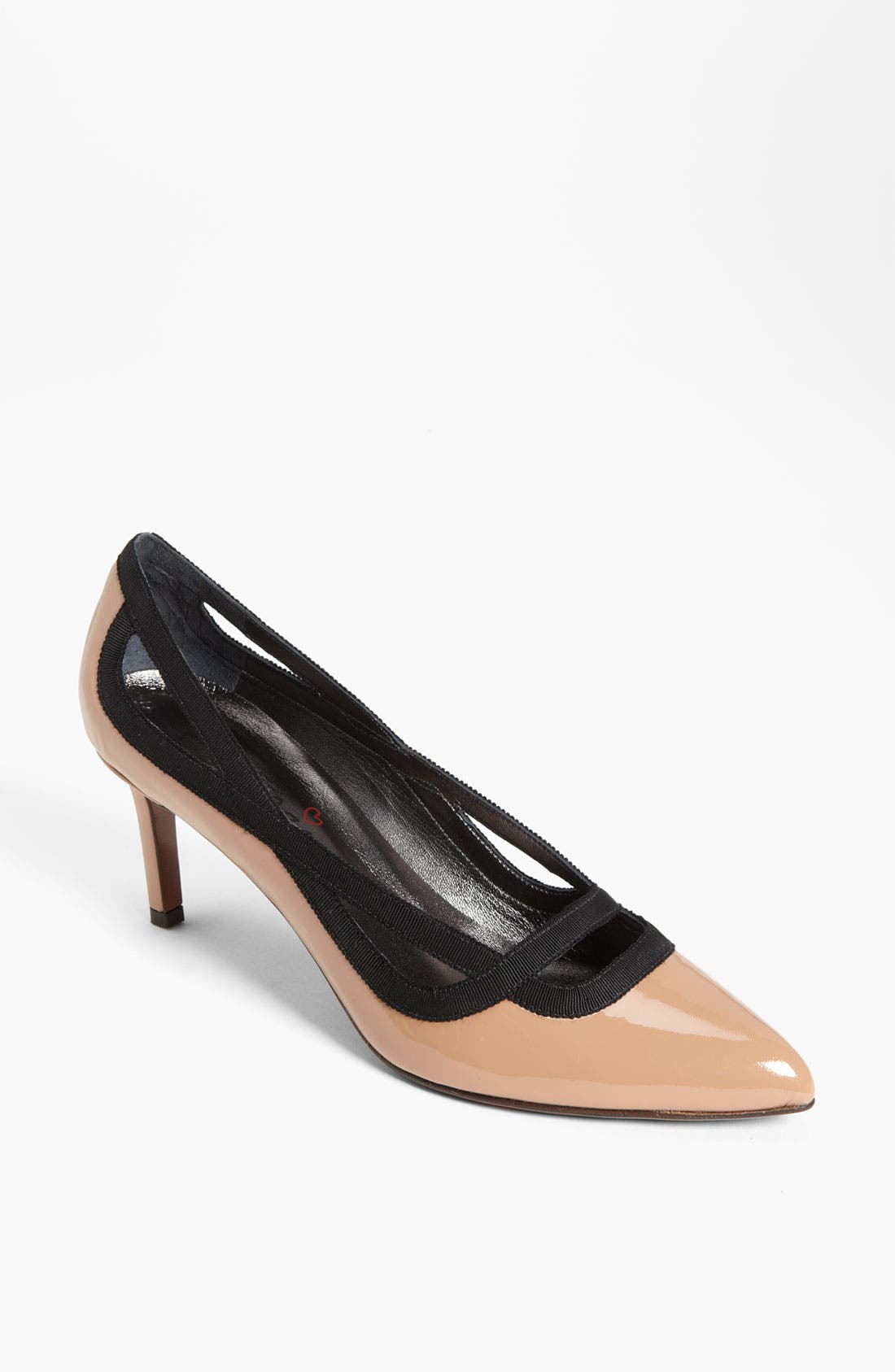 Alternate Image 1 Selected - Lanvin Grosgrain Cutout Pump