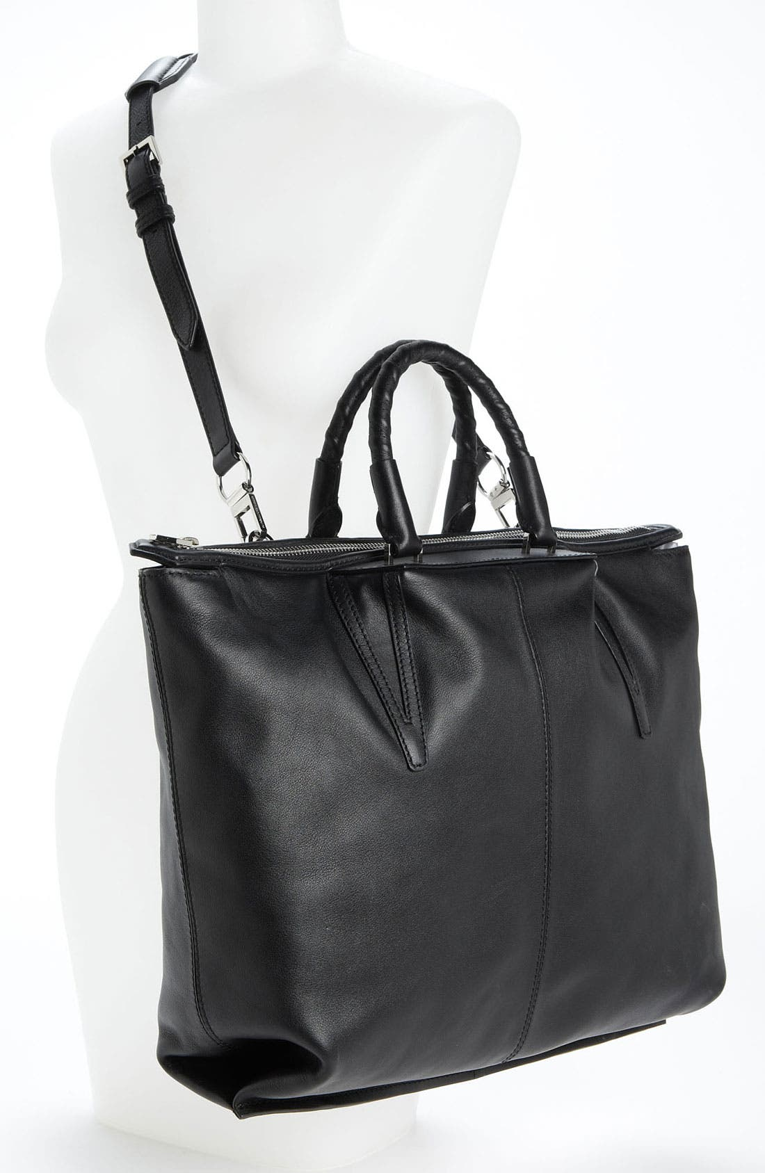 Alternate Image 2  - Alexander Wang 'Liner - Small' Leather Satchel