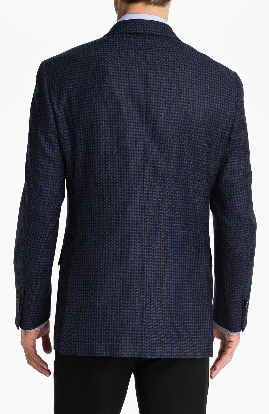 Alternate Image 2  - Pal Zileri Trim Fit Houndstooth Sportcoat