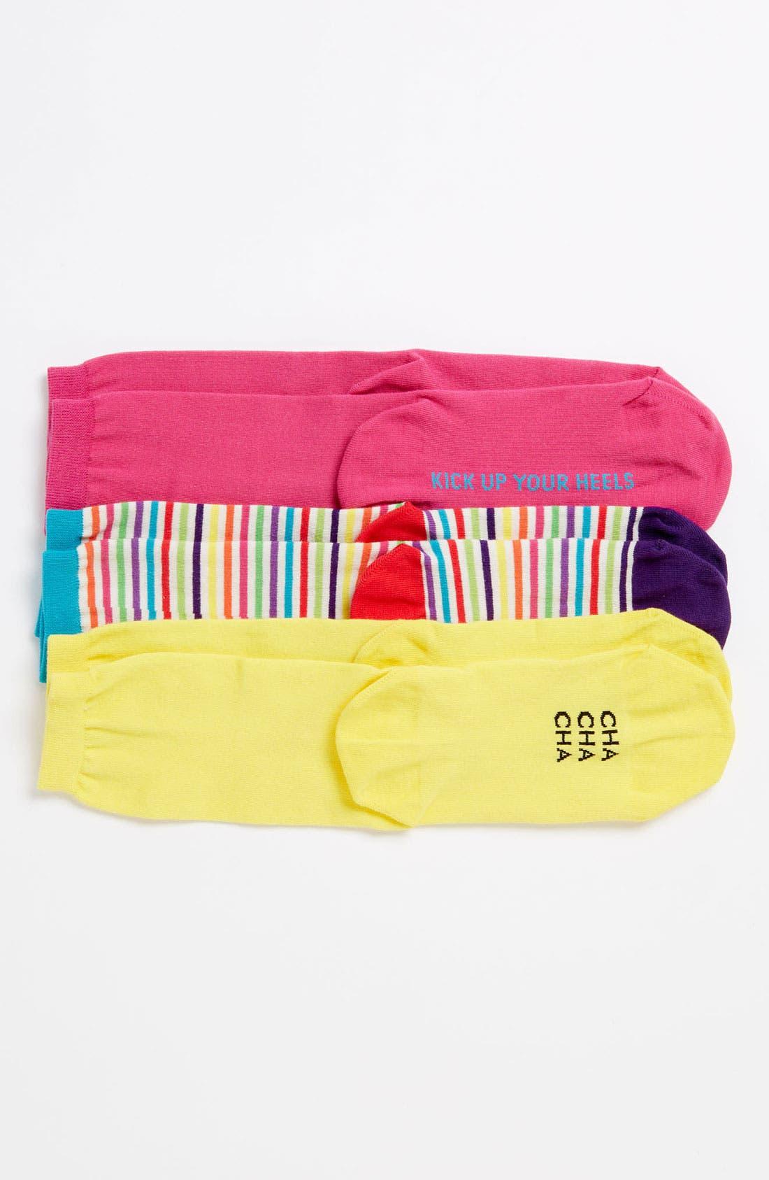 Alternate Image 2  - kate spade new york 'holiday' socks (3-Pack)