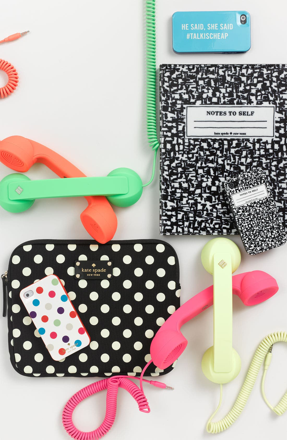 Alternate Image 3  - kate spade new york 'composition notebook' iPhone 4 & 4S case