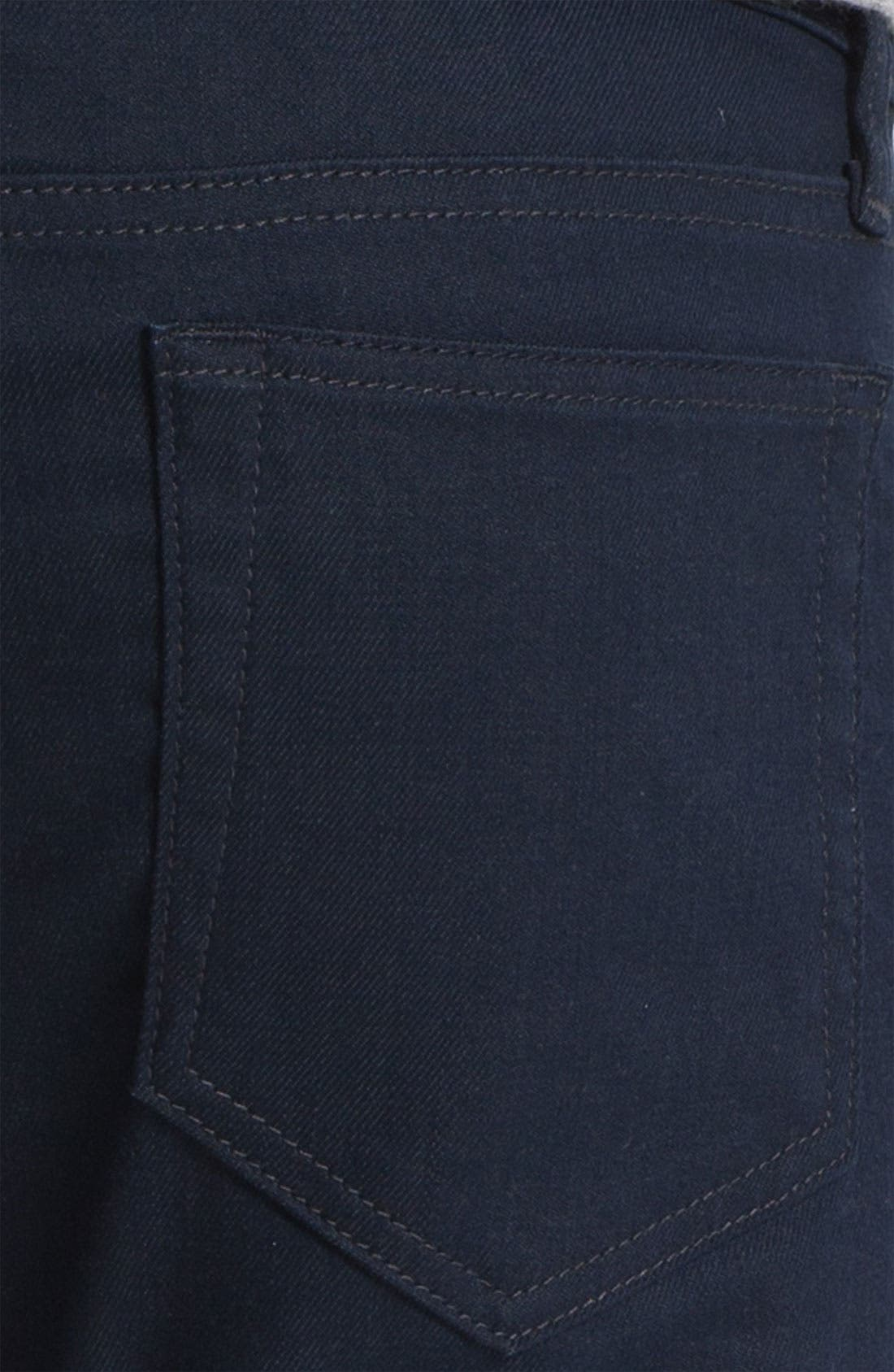 Alternate Image 4  - Joe's Super Slim Straight Leg Jeans (Teddie) (Online Exclusive)