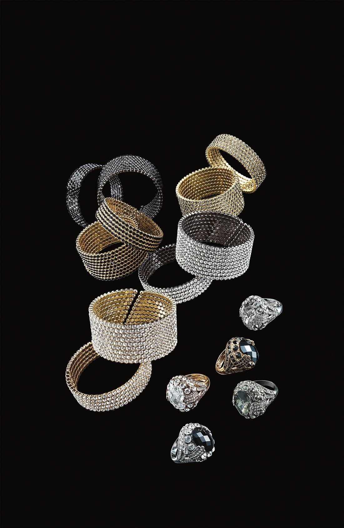 Alternate Image 2  - Cara Small Crystal Cuff