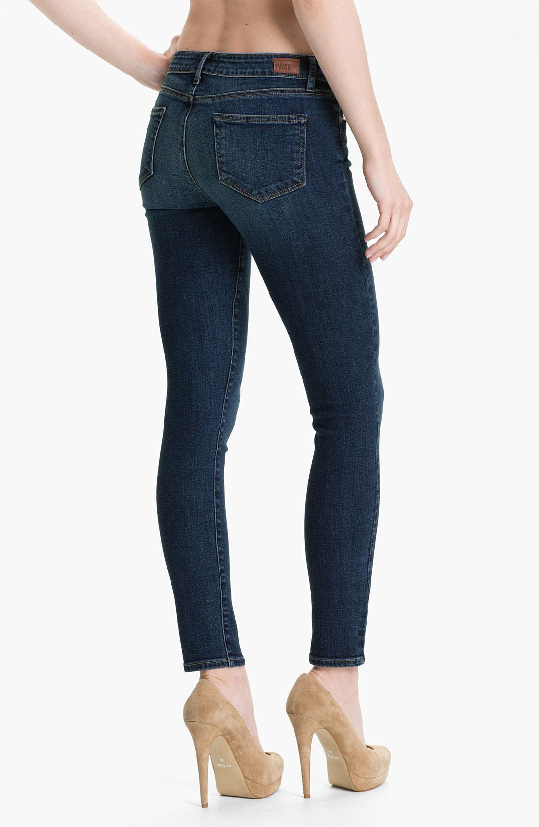 Alternate Image 2  - Paige Denim 'Verdugo' Stretch Denim Skinny Jeans (Benny)