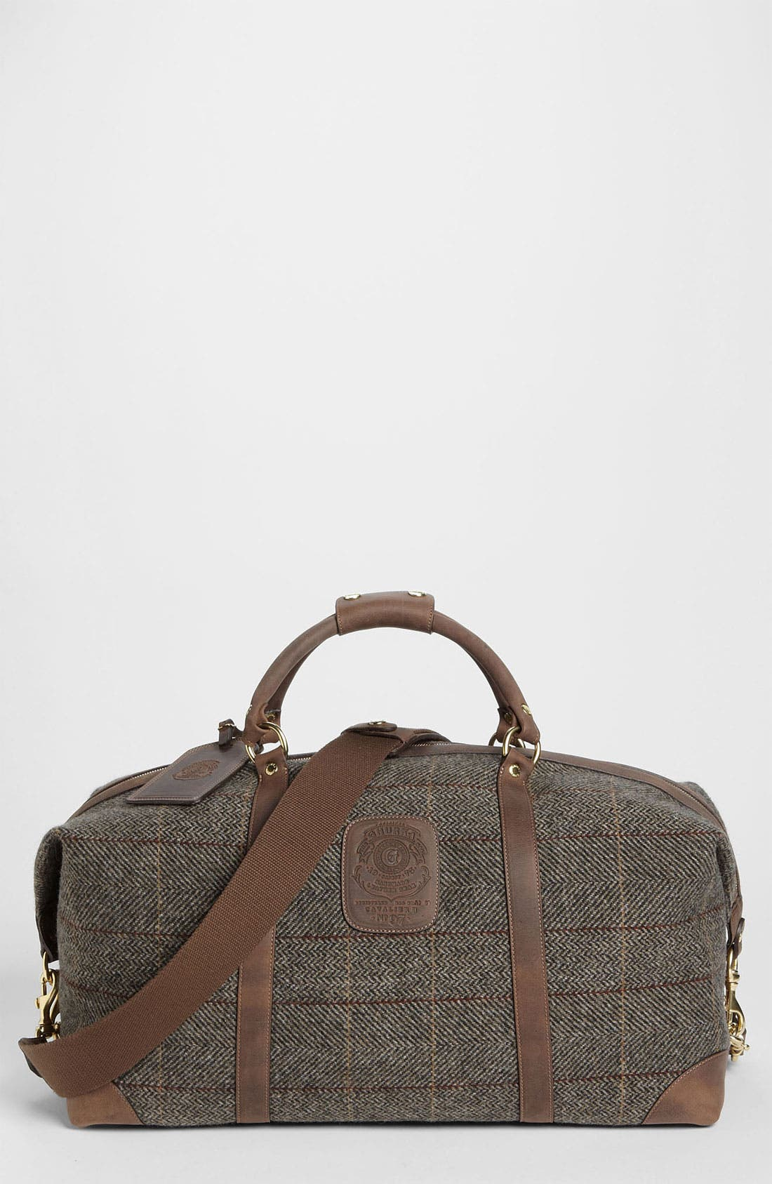 Alternate Image 1 Selected - Ghurka 'Cavalier II' Duffel Bag