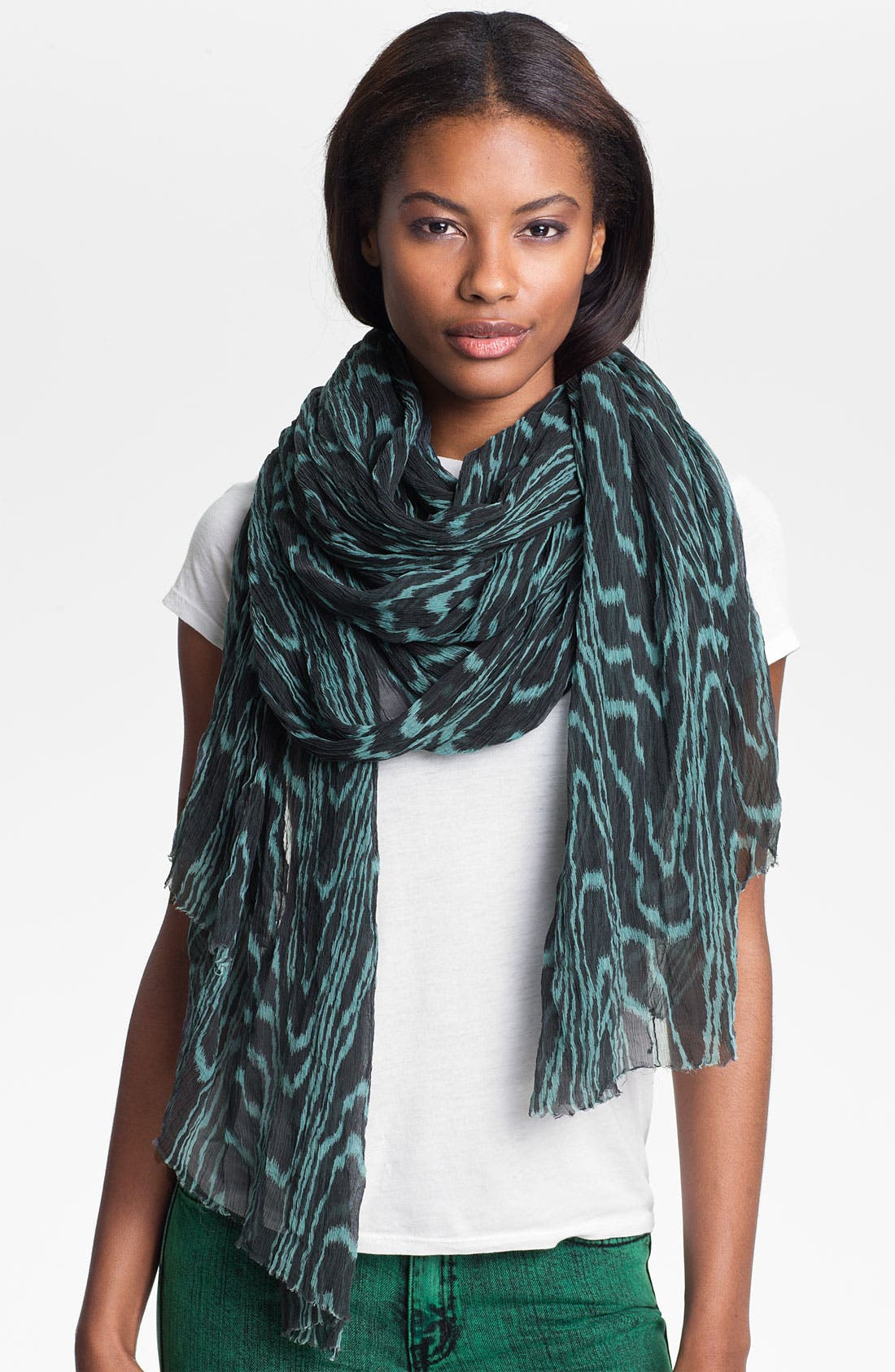 Alternate Image 1 Selected - Kelly Wearstler Wood Grain Print Scarf