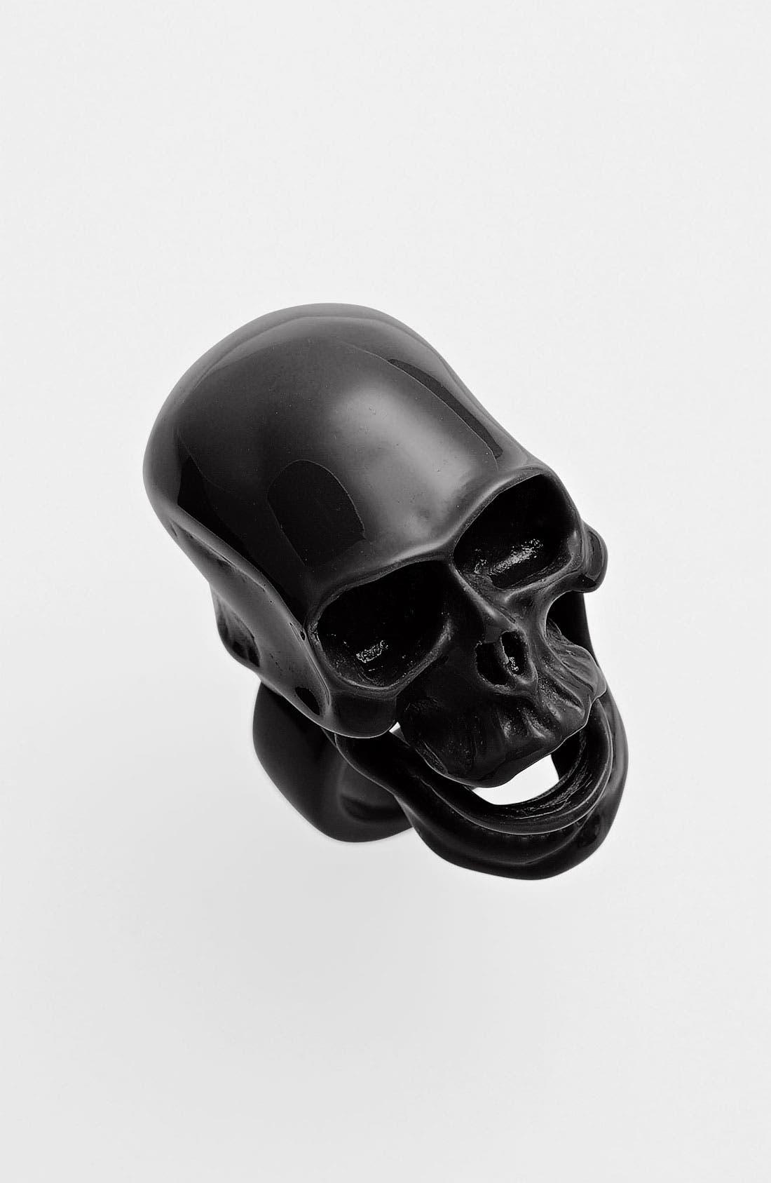 Alternate Image 1 Selected - Adia Kibur Skull Ring
