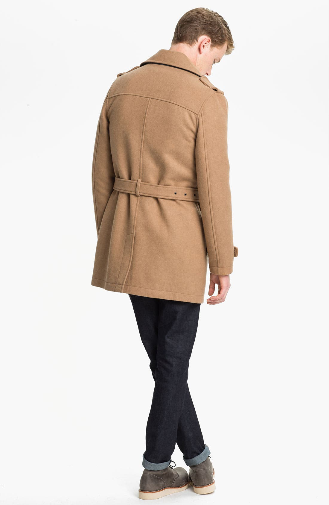 Alternate Image 5  - Topman Double Breasted Trench Coat