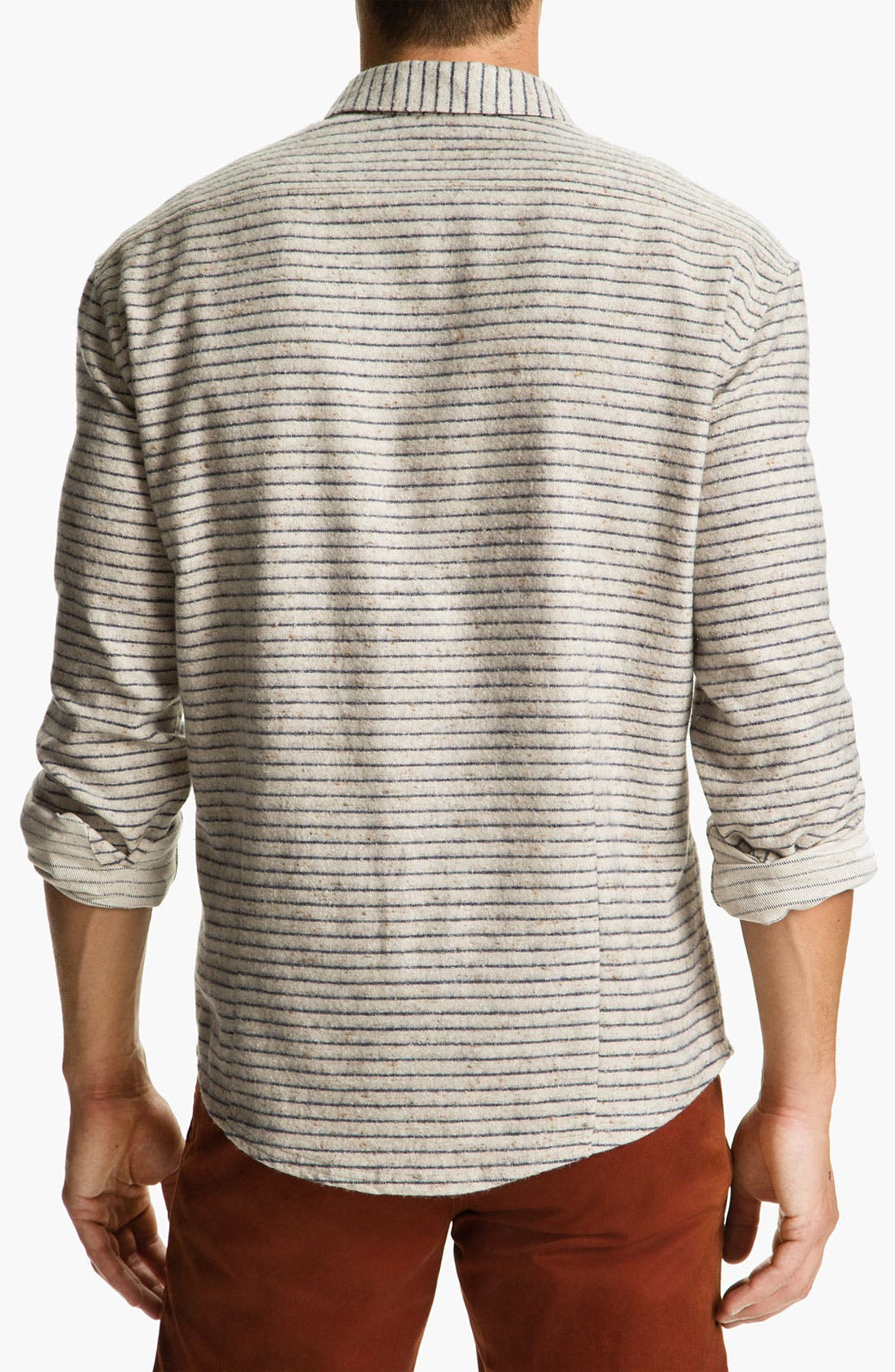 Alternate Image 2  - Riviera Club 'Tonic' Stripe Woven Shirt