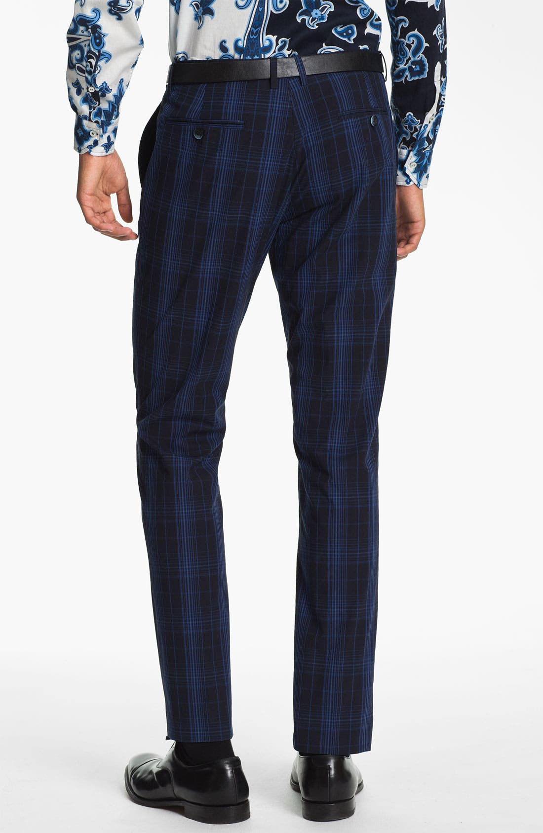 Alternate Image 2  - Etro 'Mexico' Slim Fit Plaid Trousers