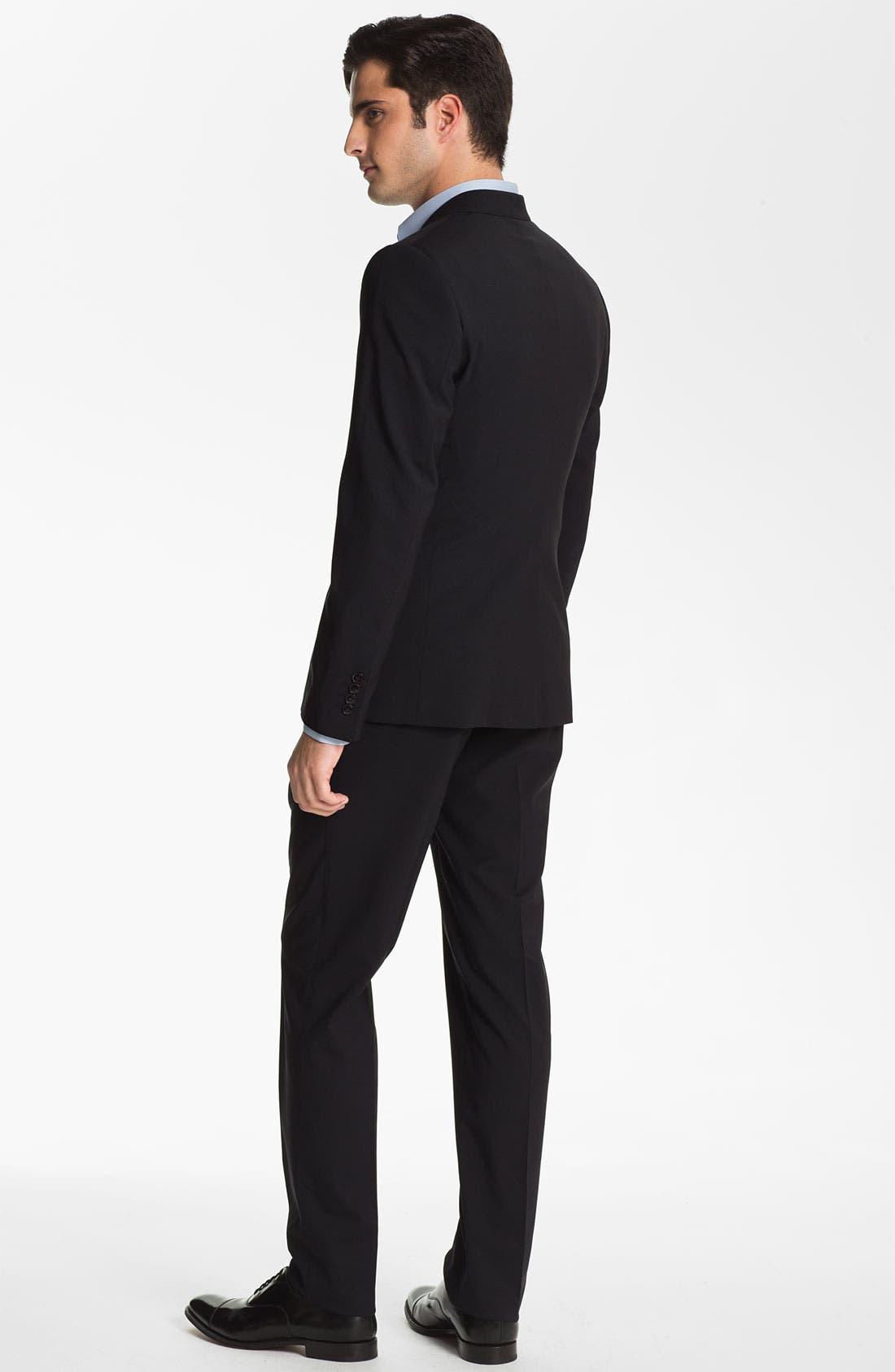 Alternate Image 3  - Dolce&Gabbana 'Martini' Stretch Wool Suit