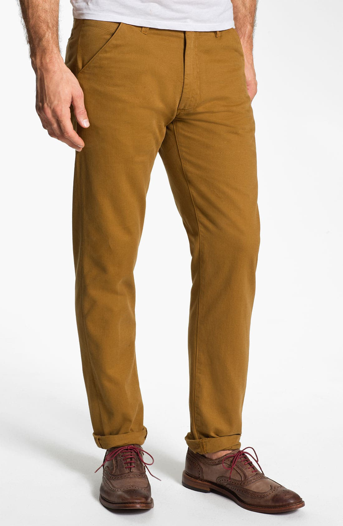 Alternate Image 1 Selected - Levi's® Made & Crafted™ 'Drill' Cotton & Linen Chinos