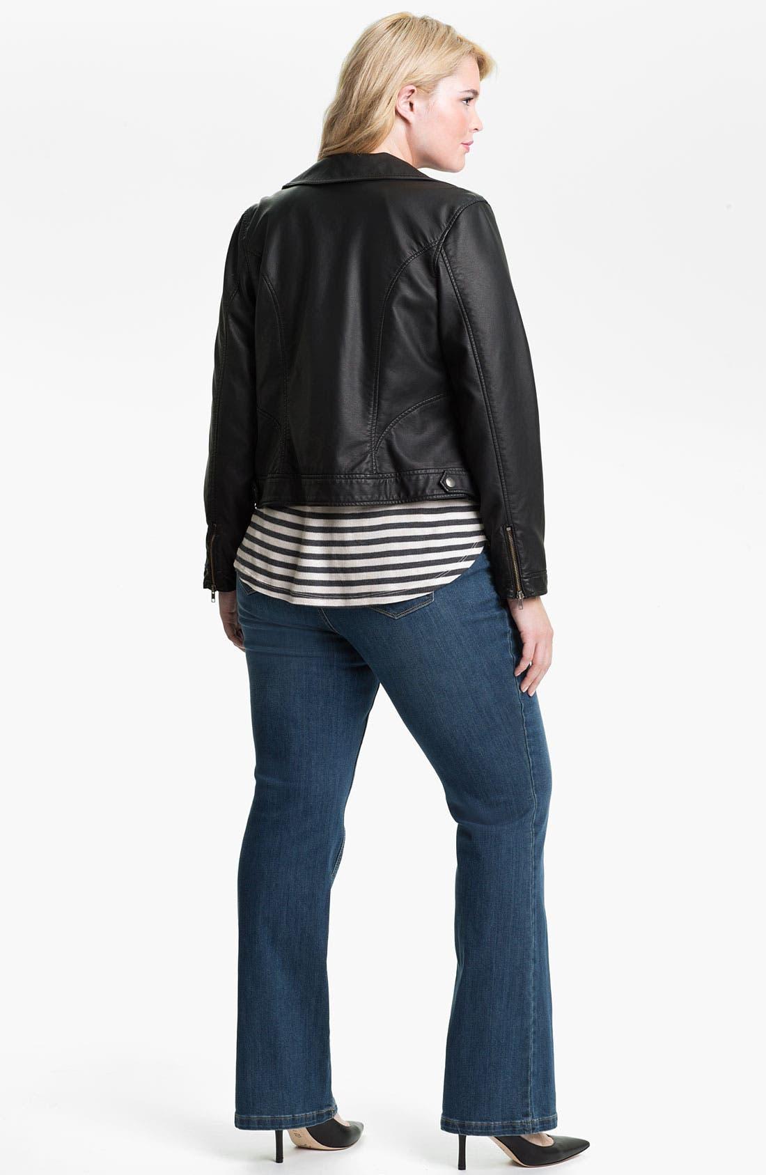 Alternate Image 5  - Mynt 1792 'Broadway' Bootcut Jeans (Plus)