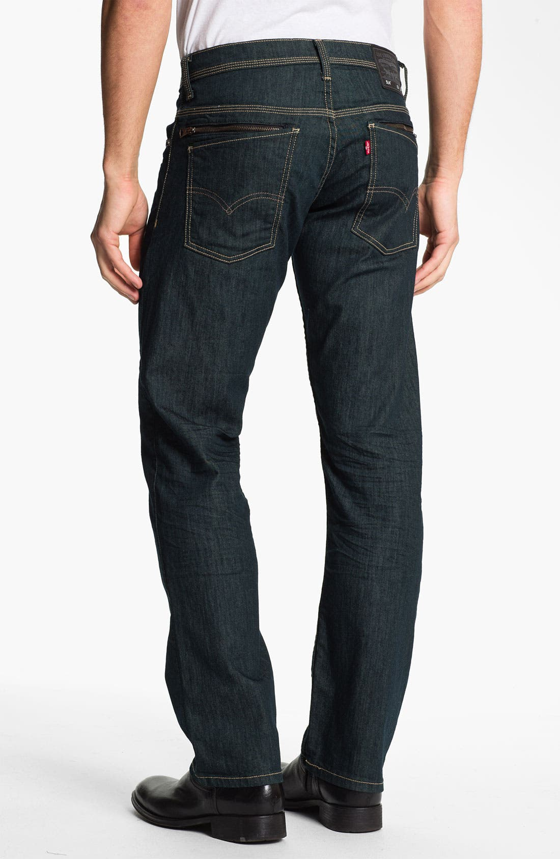 Alternate Image 1 Selected - Levi's® '514™' Slim Straight Leg Jeans (Rinsed Playa)