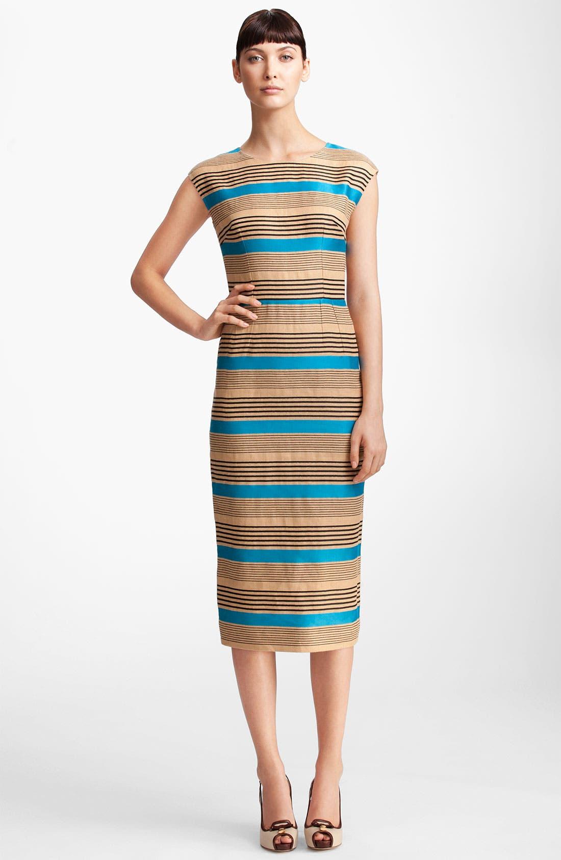 Main Image - Dolce&Gabbana Multi Stripe Dress