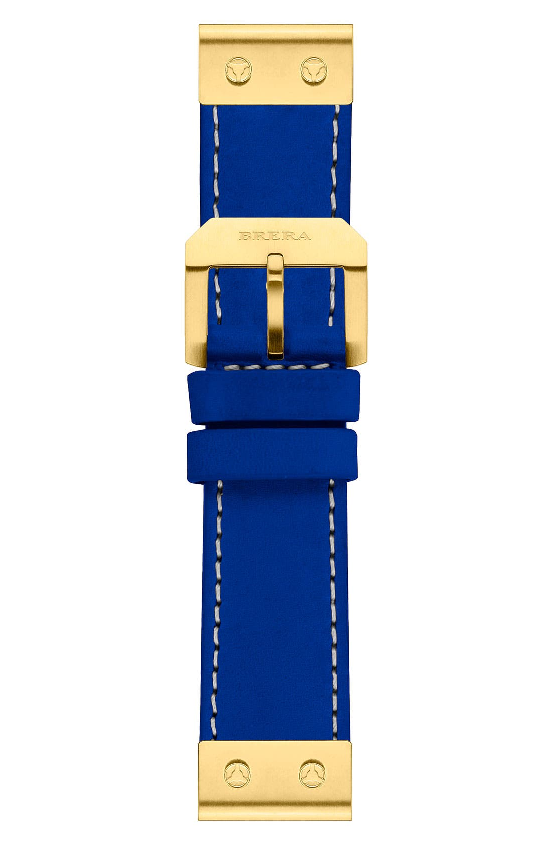 Alternate Image 1 Selected - Brera 22mm Calfskin Leather Watch Strap