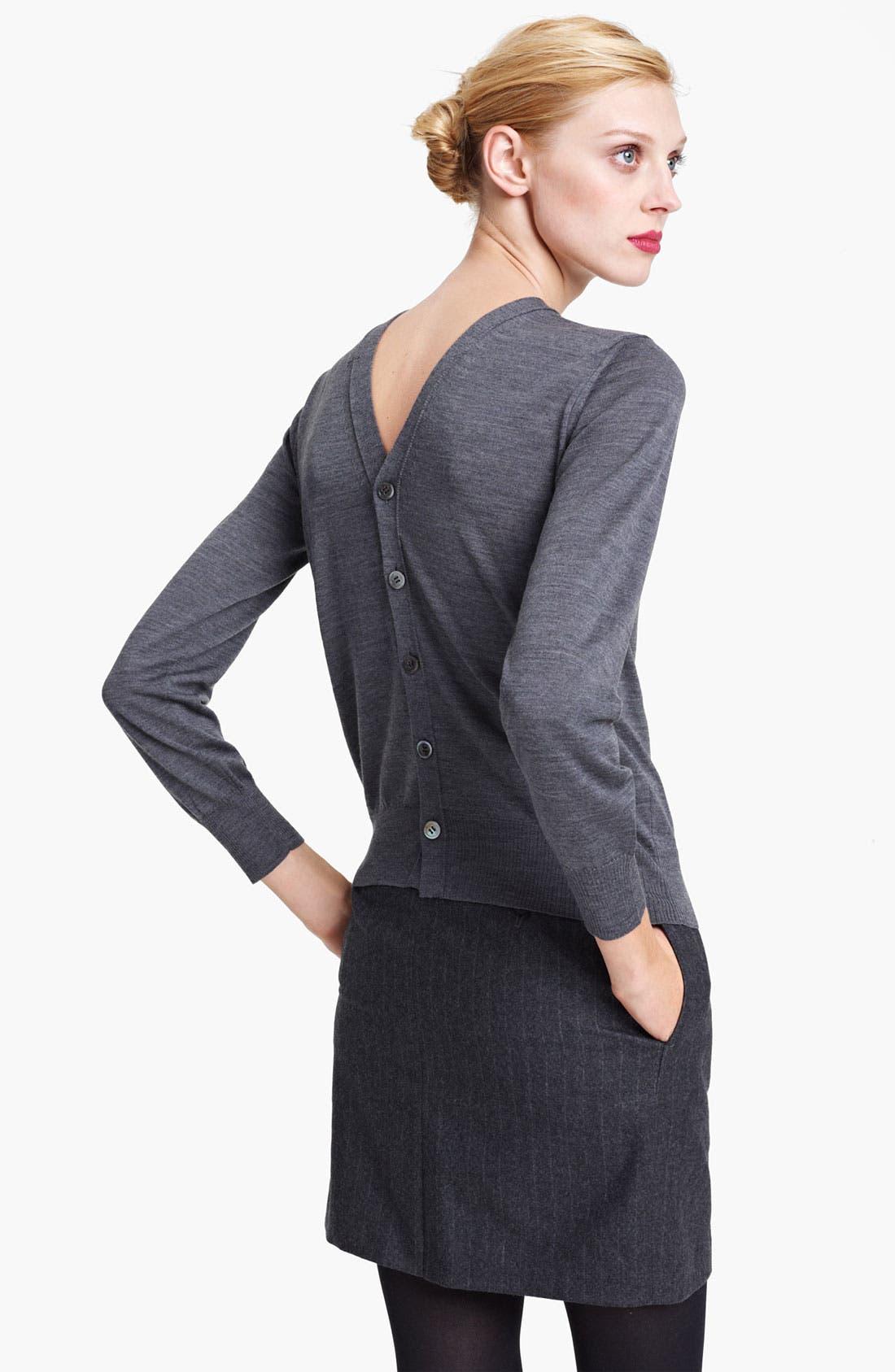Alternate Image 2  - Junya Watanabe Button Back Wool Sweater