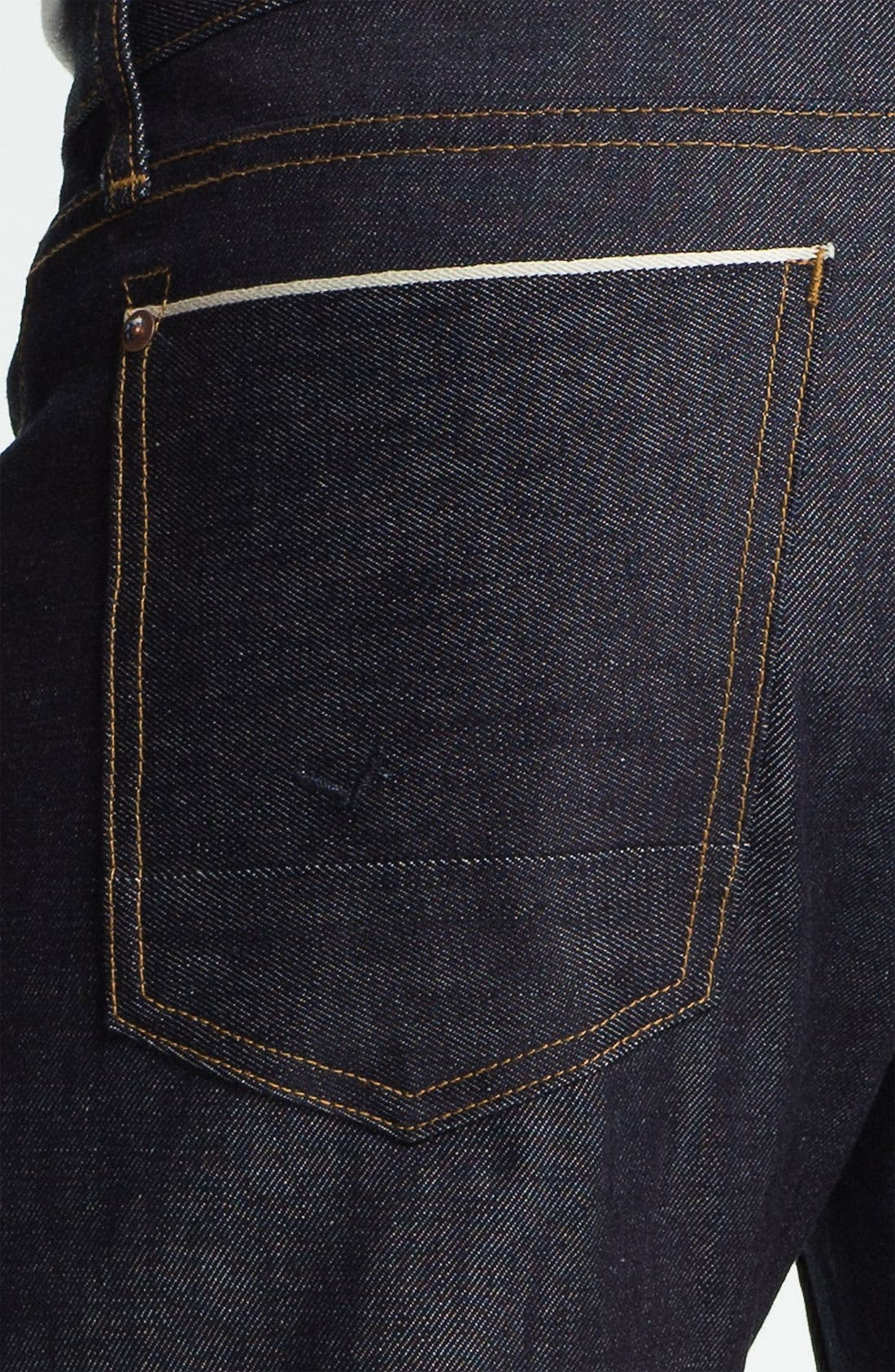 Alternate Image 4  - Hudson Jeans 'Byron' Straight Leg Jeans (Turbotech Selvage)