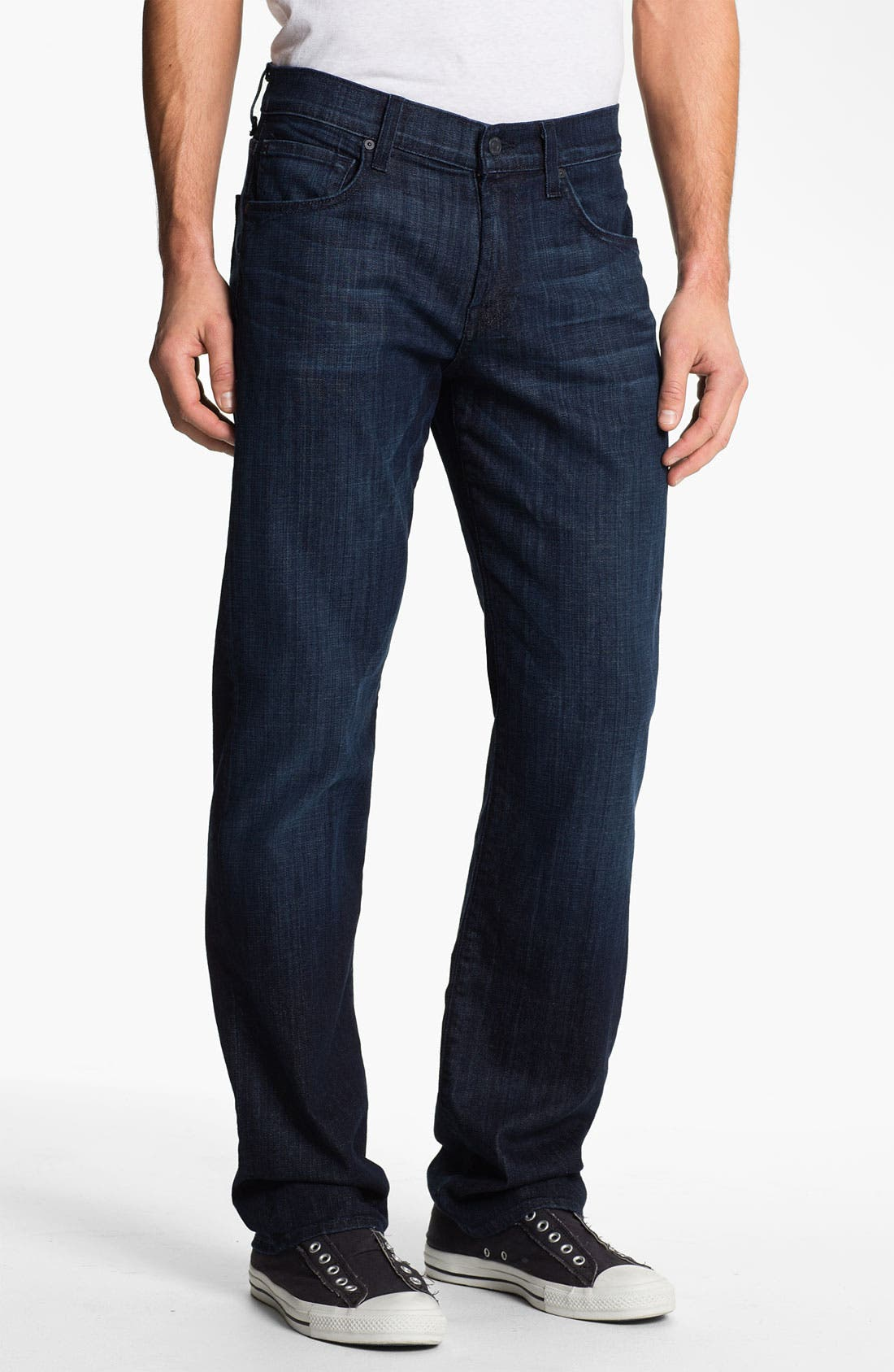Alternate Image 2  - 7 For All Mankind® 'Carsen' Easy Straight Leg Jeans (Rose Avenue)
