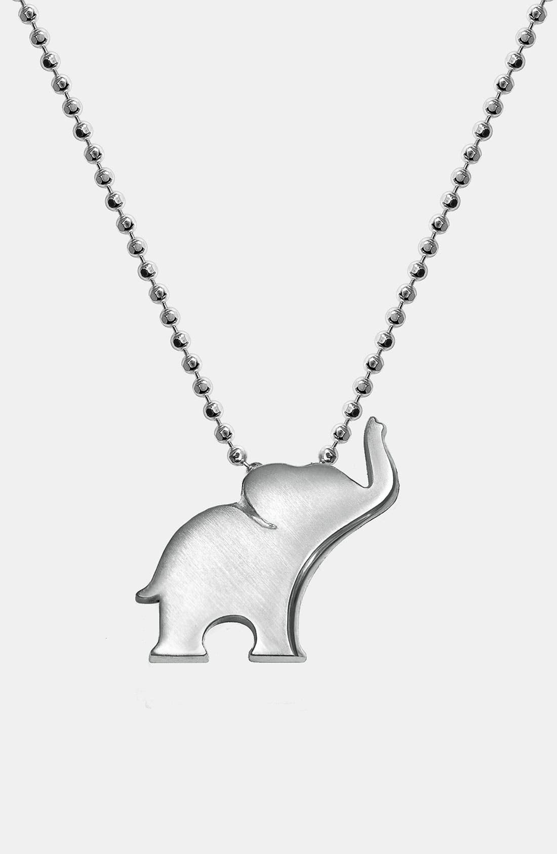 Alternate Image 1 Selected - Alex Woo 'Little Luck' Pendant Necklace