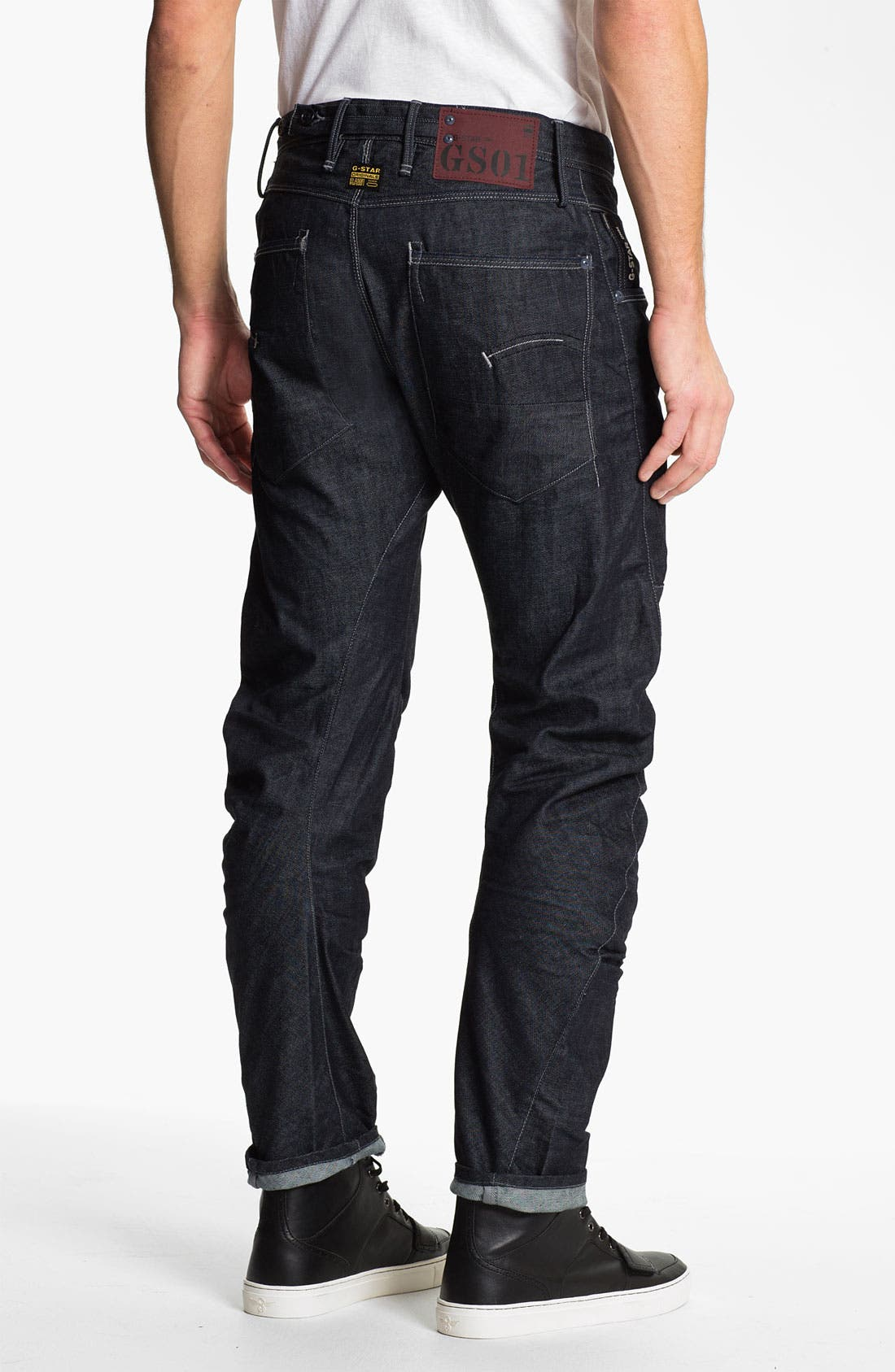 Alternate Image 1 Selected - G-Star Raw 'Modernist Army Rader' Straight Leg Jeans (3D Raw)