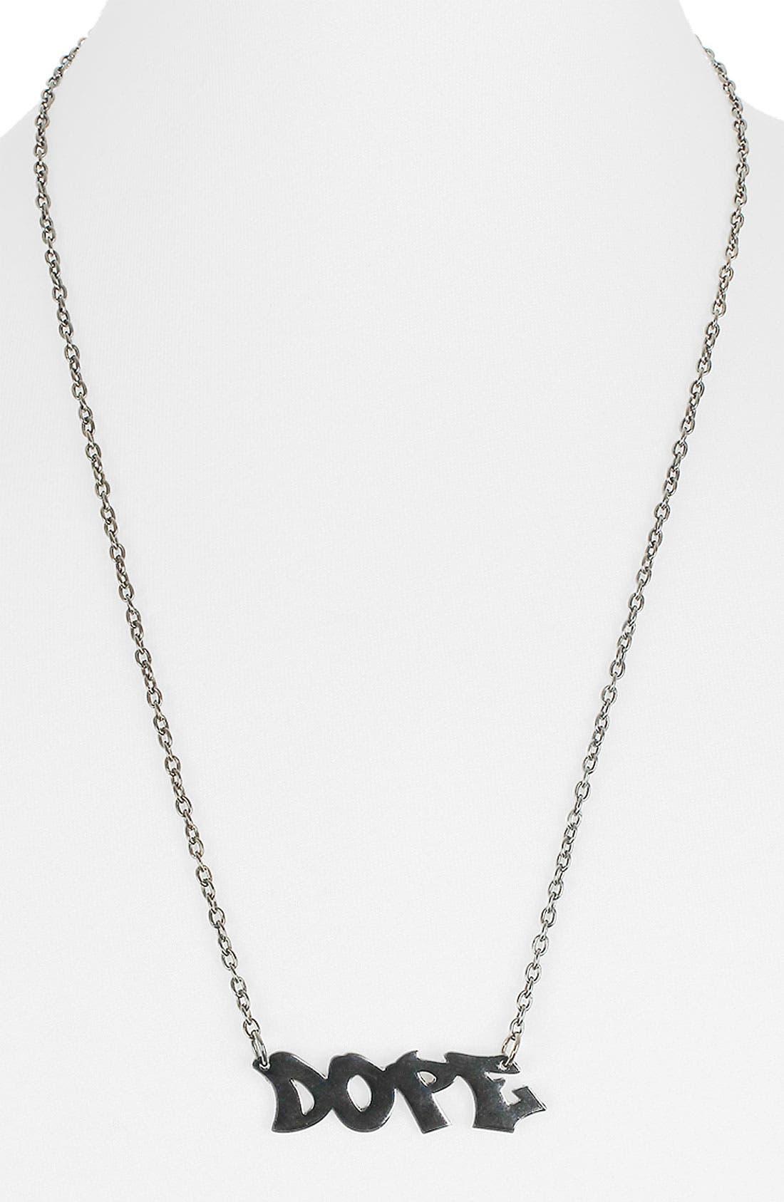 Alternate Image 1 Selected - Topman Pendant Necklace