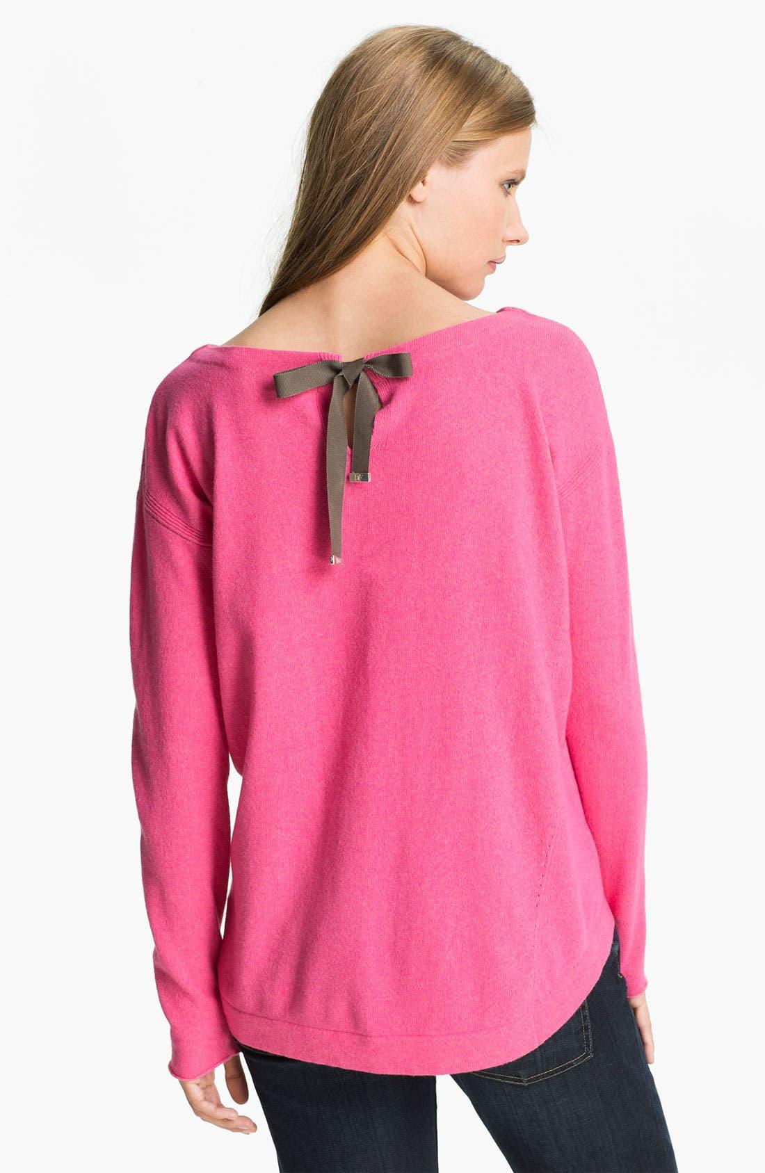 Alternate Image 2  - Diane von Furstenberg 'Garnet' Cashmere Sweater