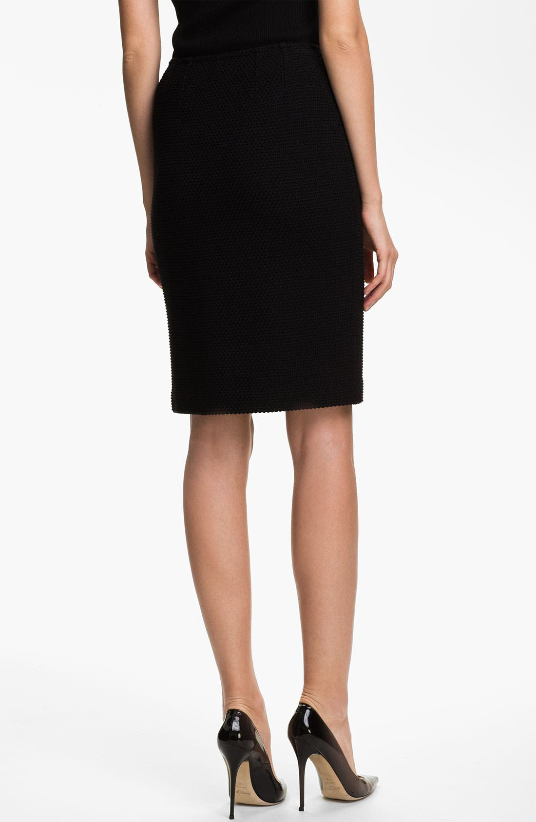 Alternate Image 3  - St. John Collection Punto Riso Pencil Skirt