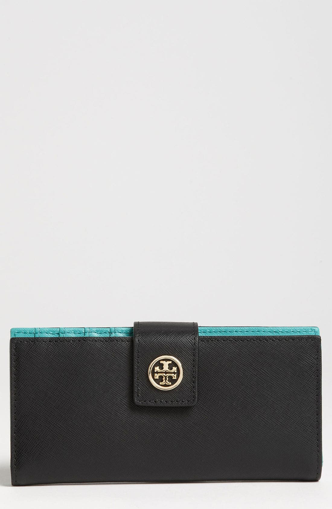 Alternate Image 1 Selected - Tory Burch 'Robinson' Fold Wallet