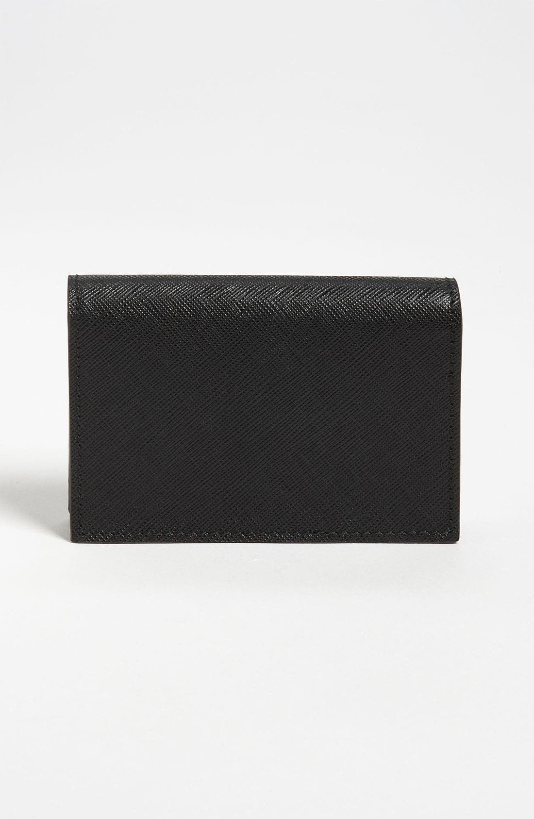 Alternate Image 2  - Salvatore Ferragamo 'Gancini Icona' Leather Card Case