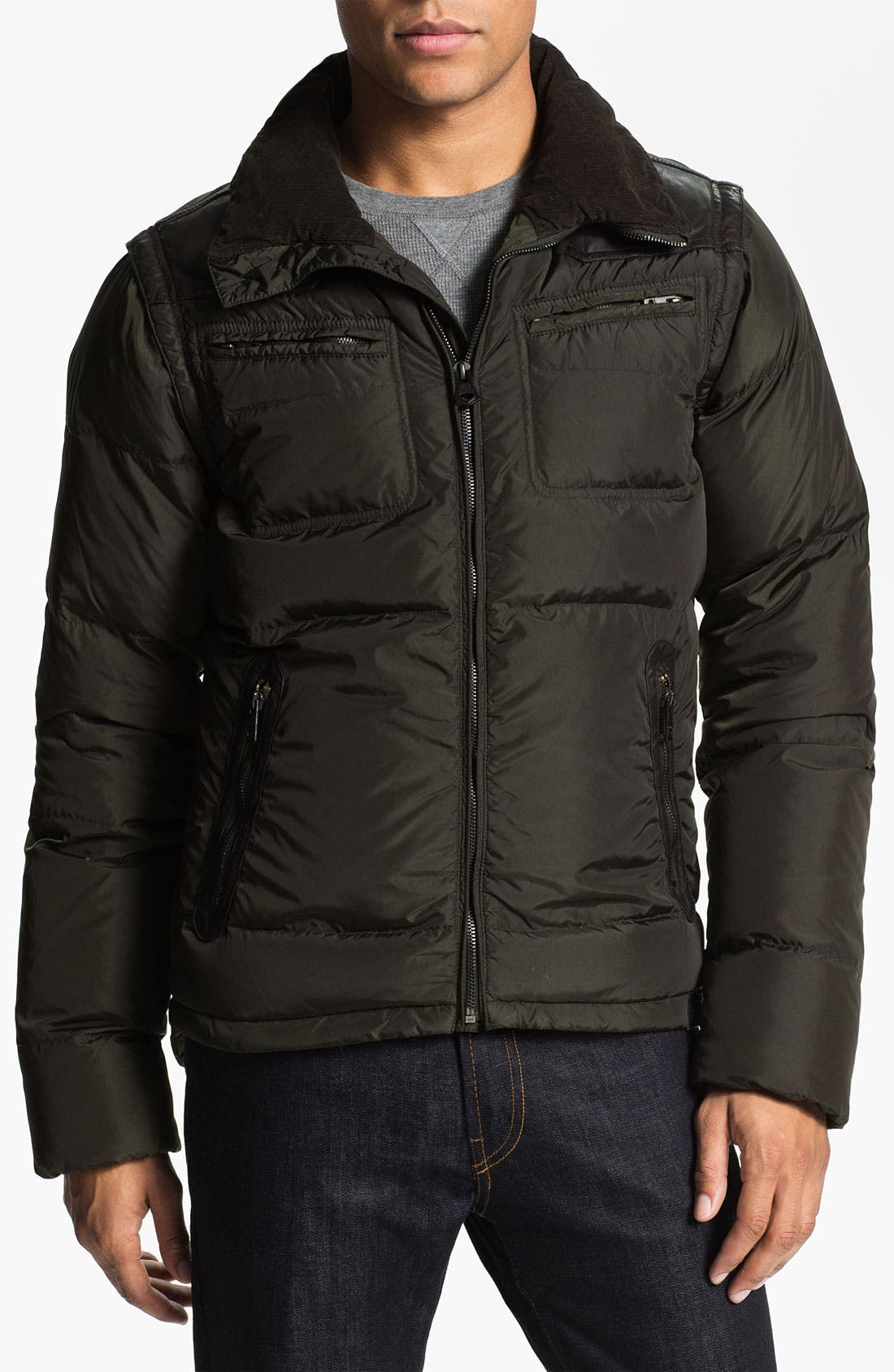 Alternate Image 1 Selected - DIESEL® 'Wilkiam' Down Jacket