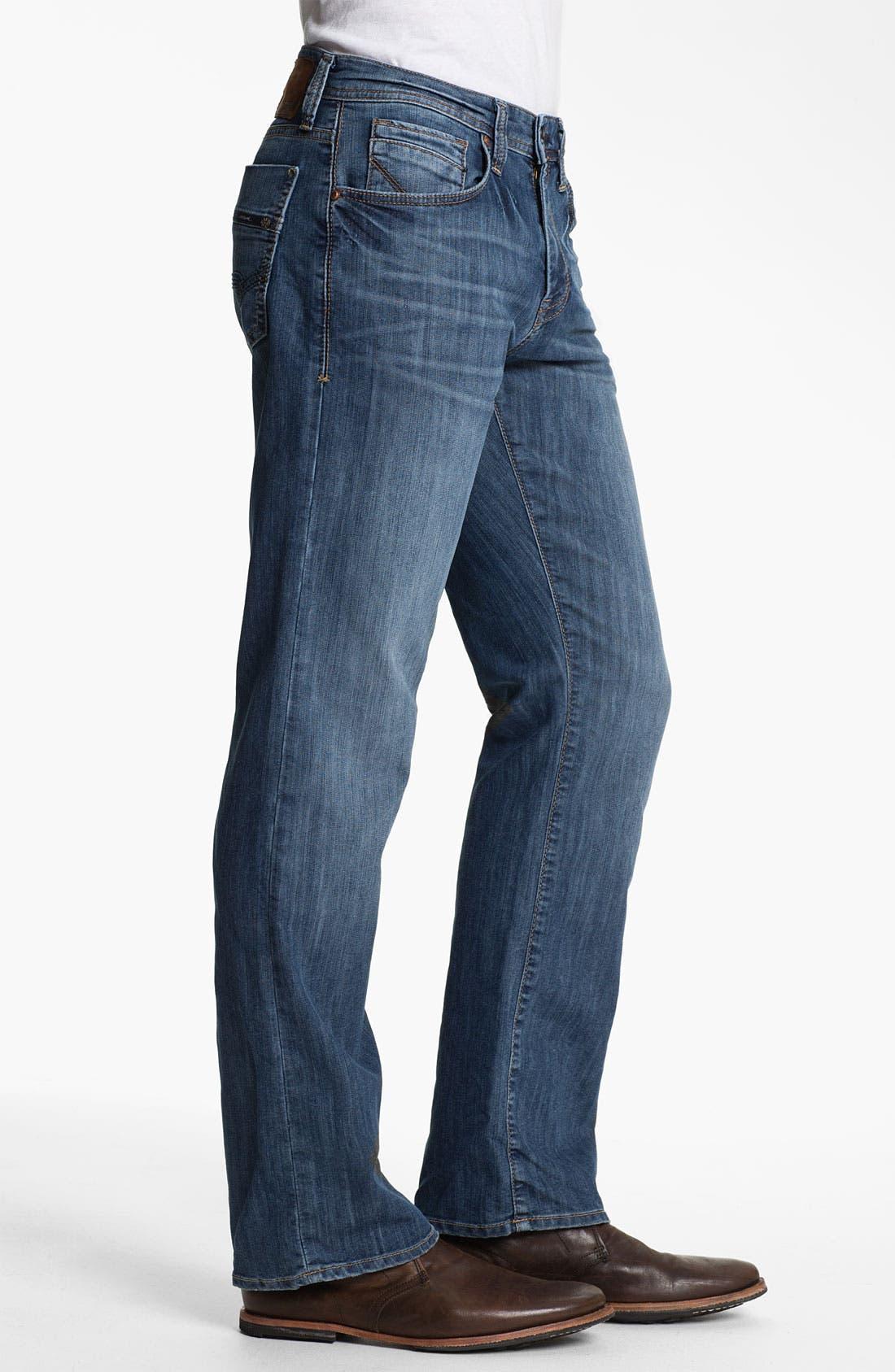 Alternate Image 3  - Mavi Jeans 'Josh' Bootcut Jeans (Mid Blue Eastwood)