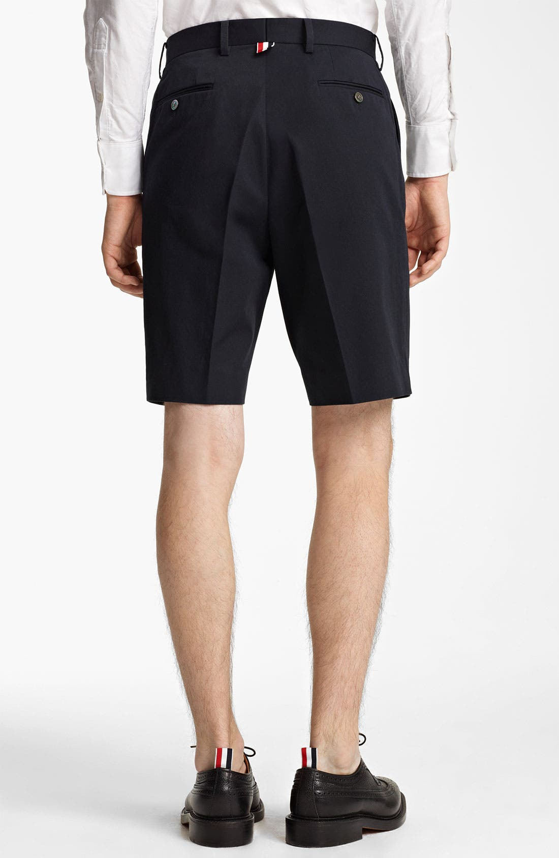 Alternate Image 2  - Thom Browne Cotton Twill Shorts