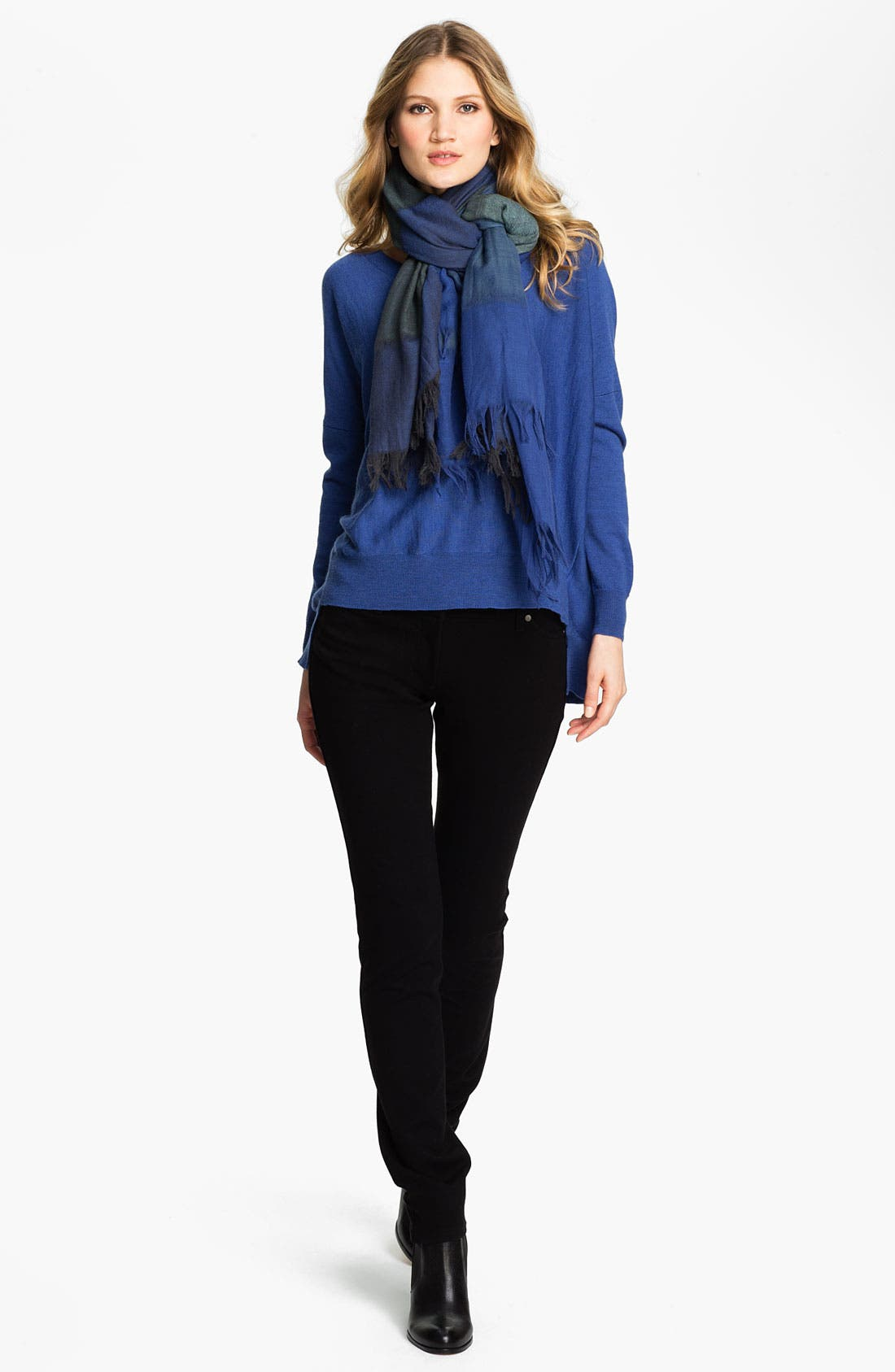 Alternate Image 4  - Eileen Fisher Fringed Wool Scarf