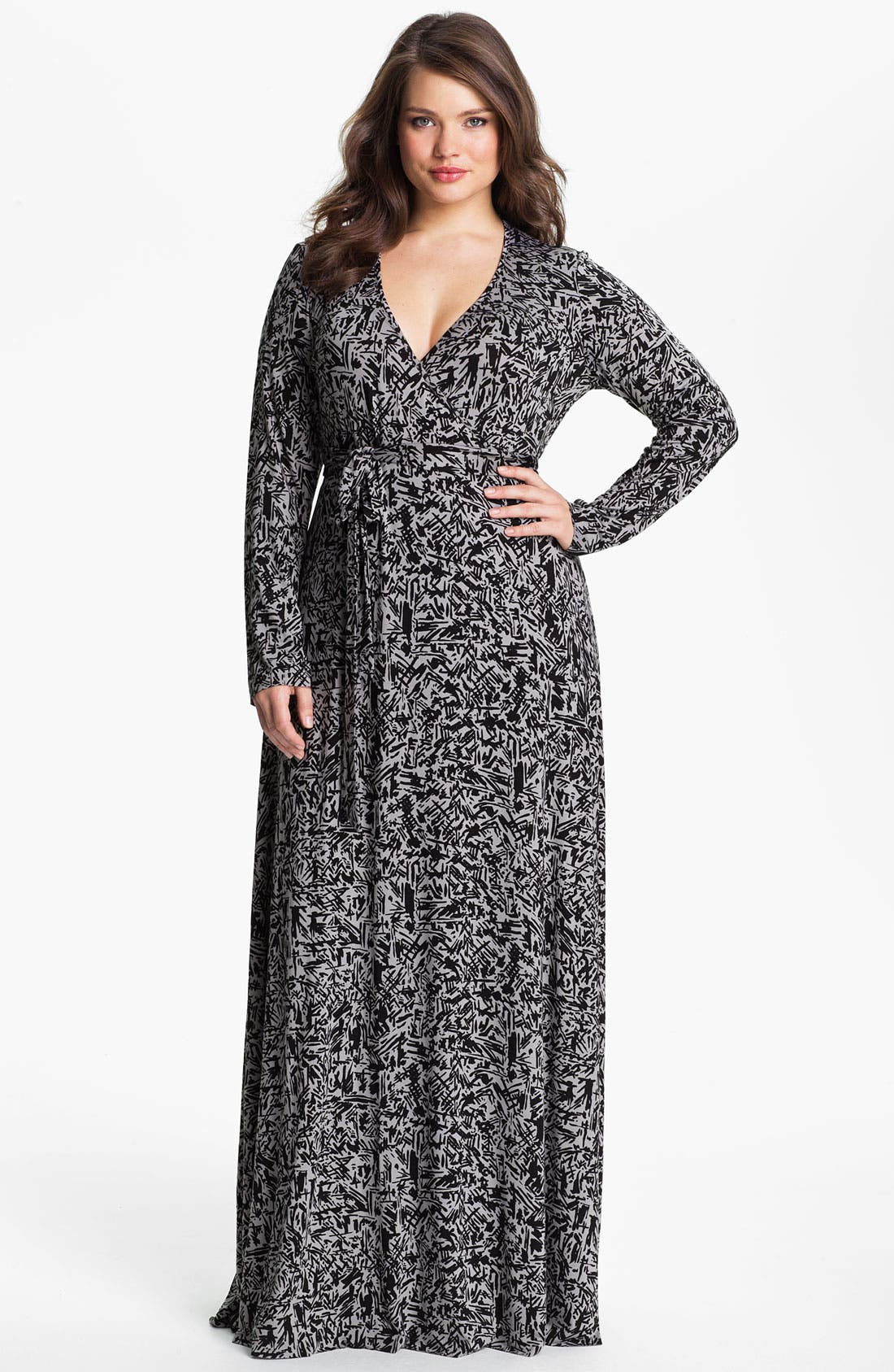 Alternate Image 1 Selected - Rachel Pally Long Wrap Dress (Plus)